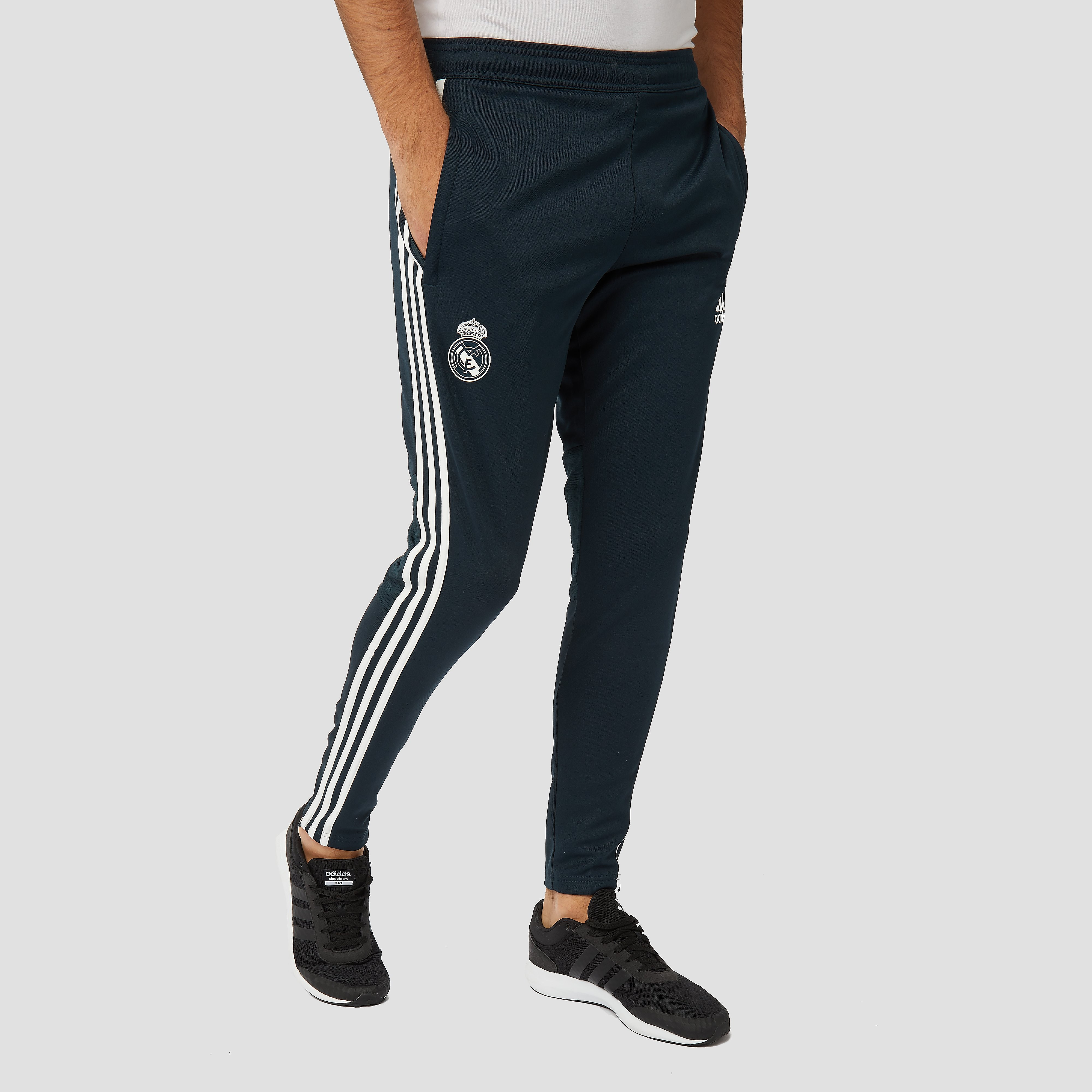 ADIDAS REAL MADRID TRAININGSBROEK 18/19 BLAUW HEREN