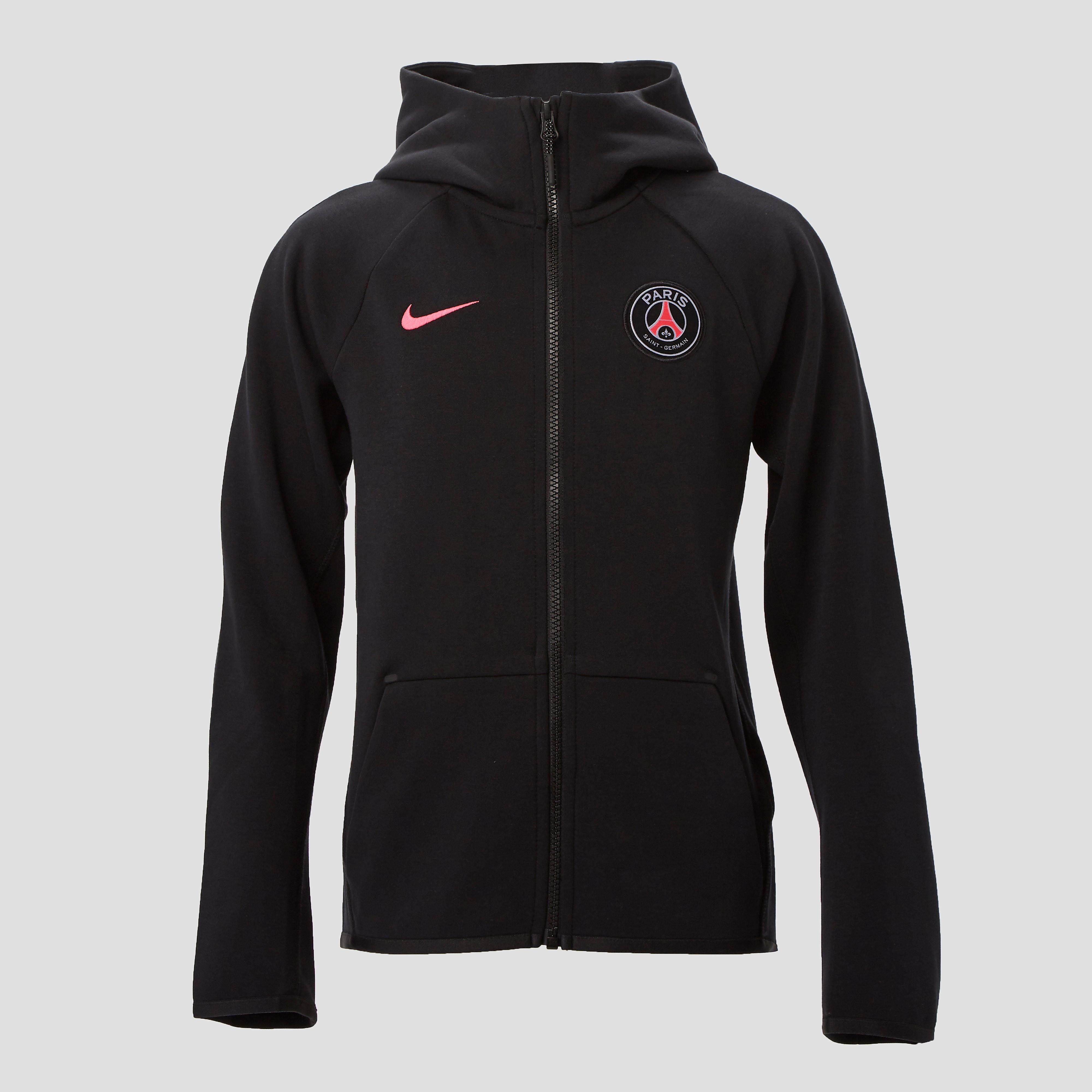 678555620ce Nike Psg Sportswear Tech Fleece Vest Zwartroze Kinderen nike kopen in de  aanbieding