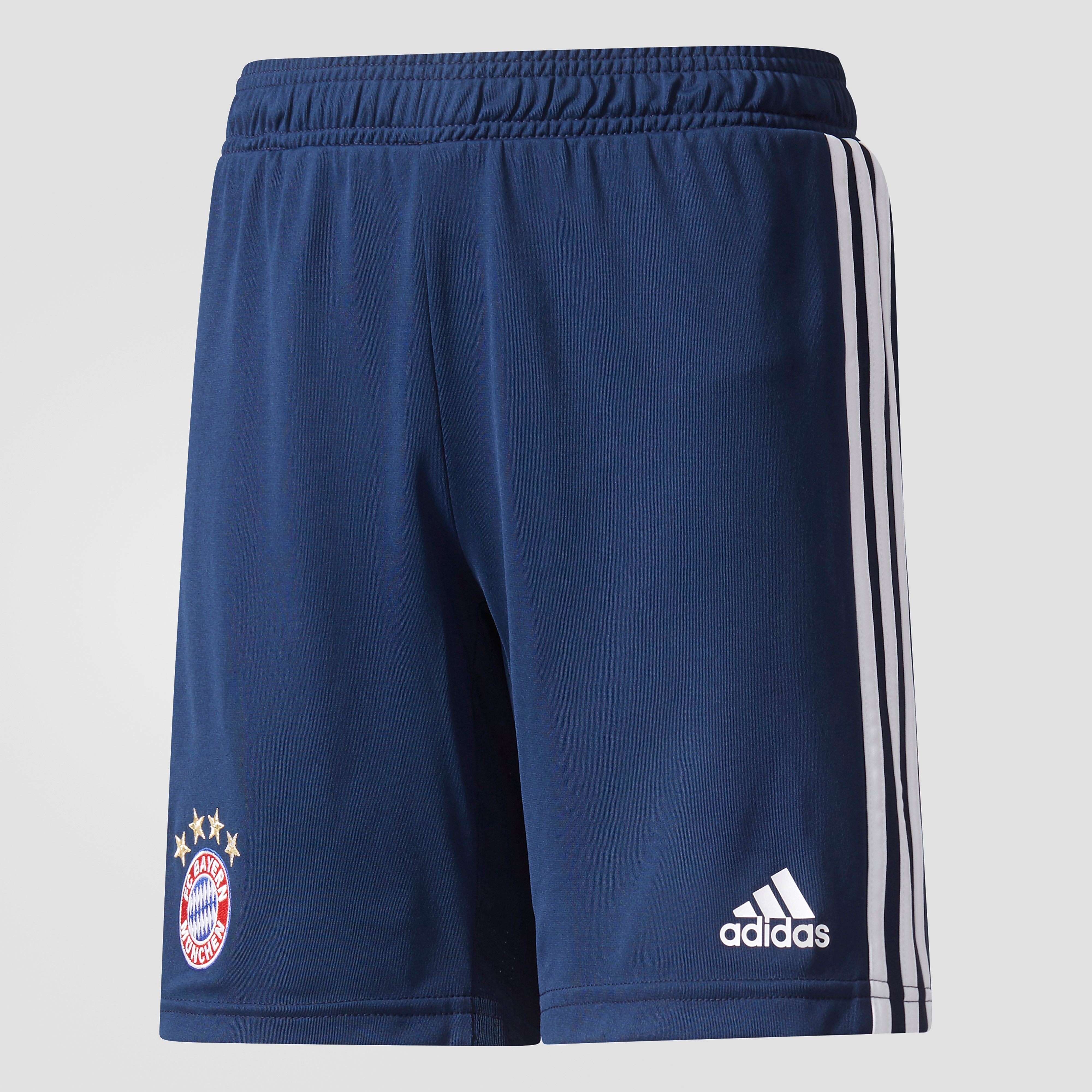 ADIDAS FC BAYERN MÜNCHEN TRAININGSSHORT 17/18 BLAUW KINDEREN