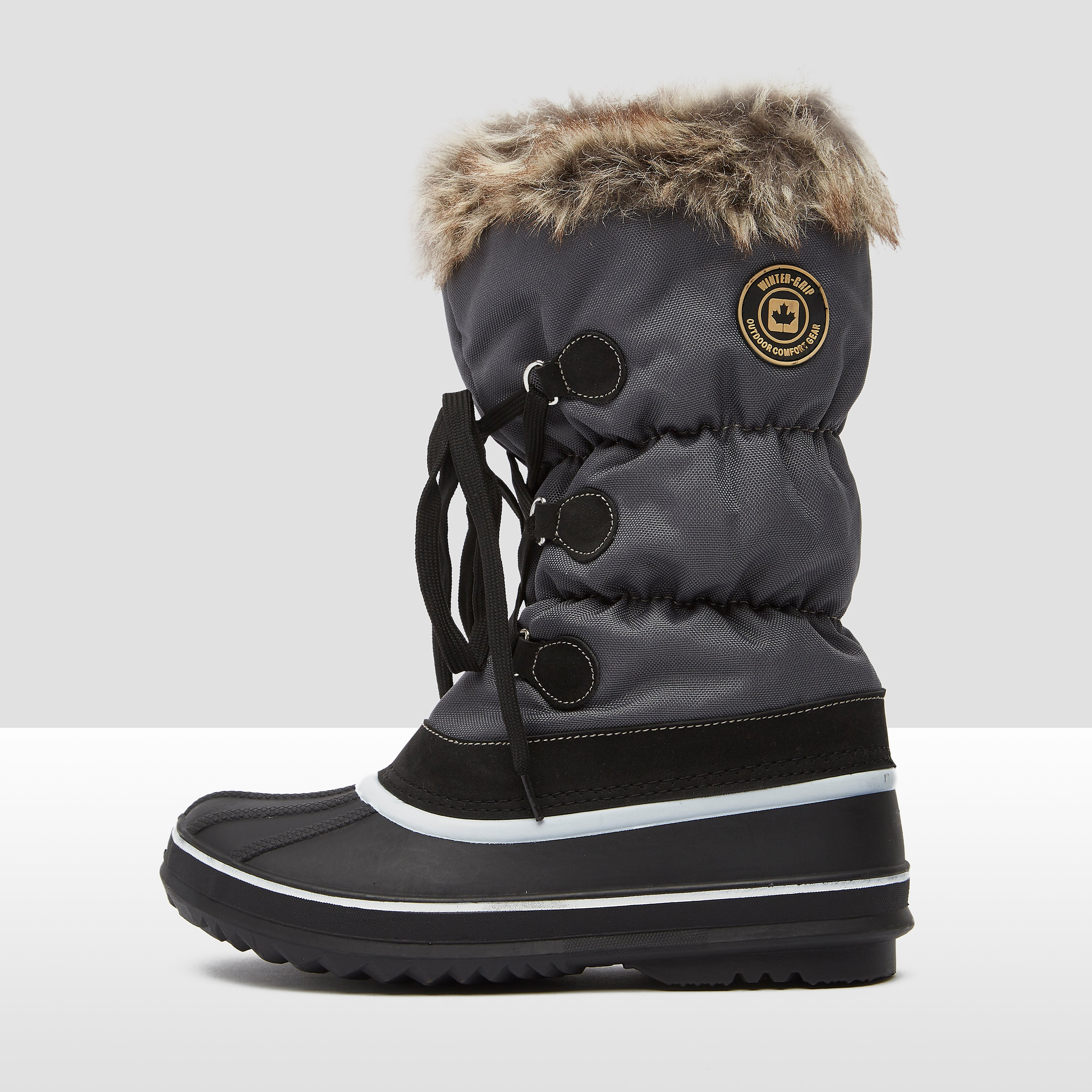 WINTER-GRIP LACE UP SNOWBOOTS WIT