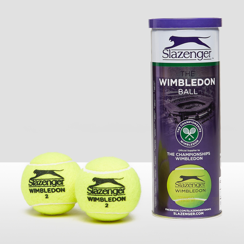 SLAZENGER WIMBLEDON TENNISBALLEN 3-PACK