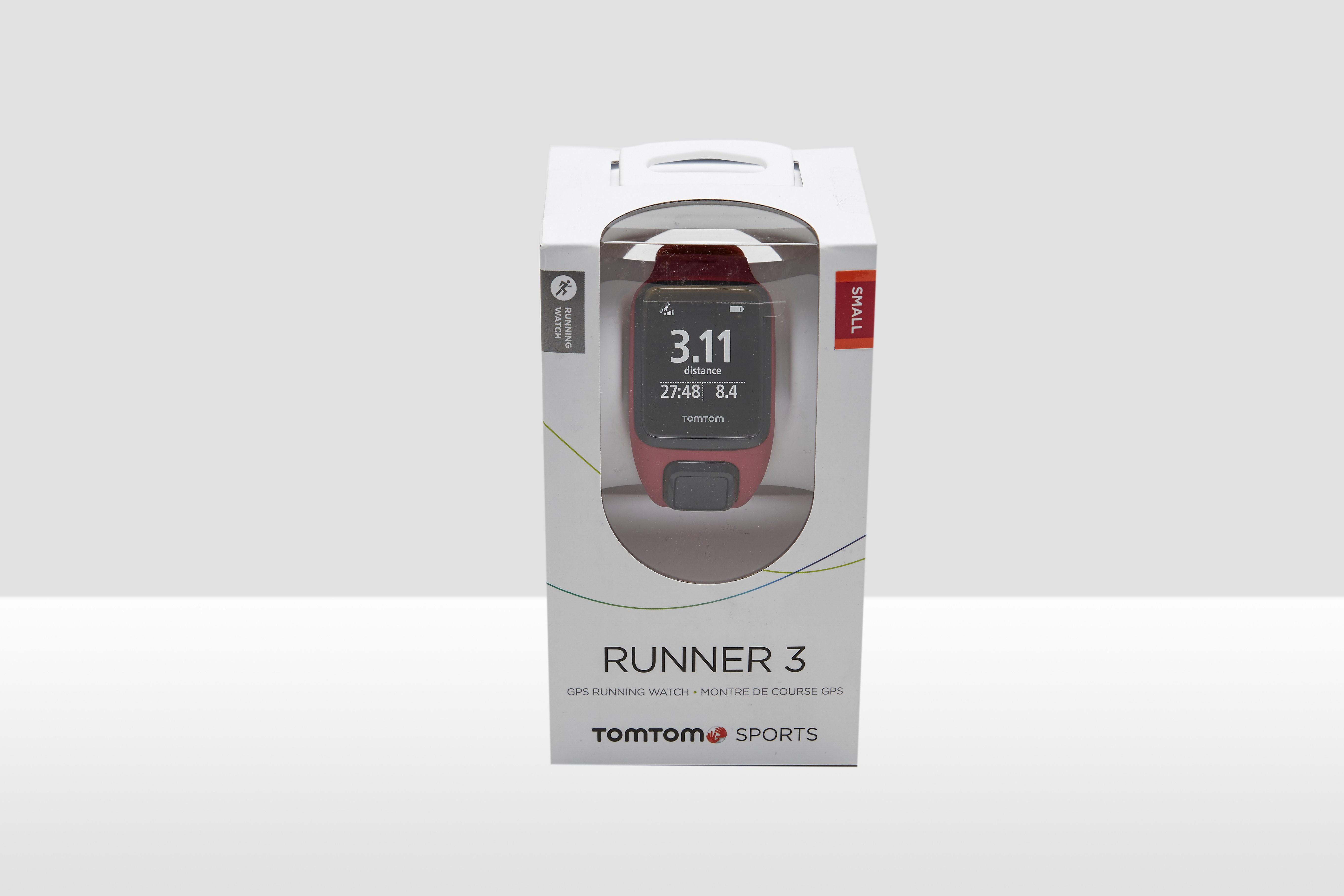 TOMTOM RUNNER 3 GPS SMALL ROZE/ORANJE