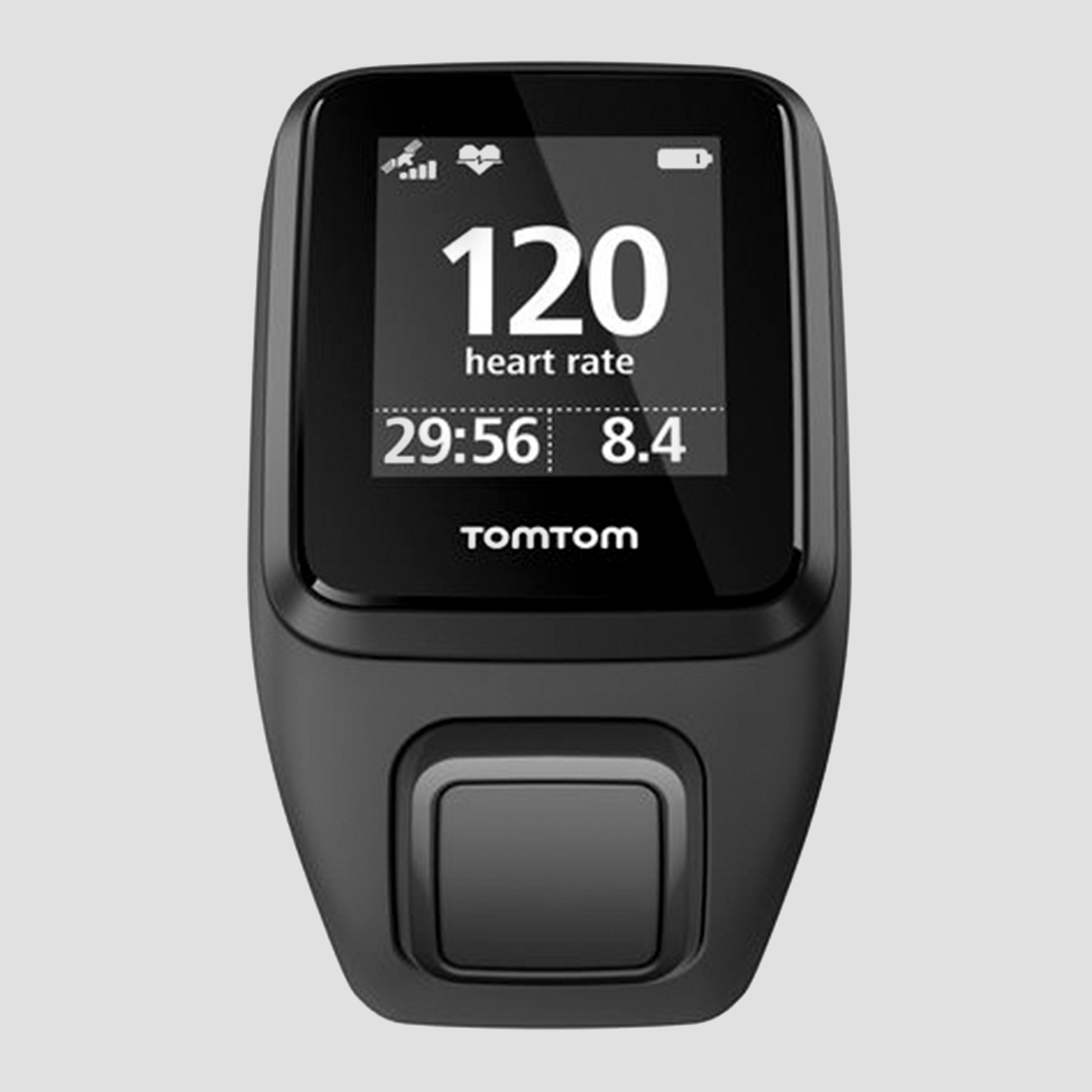 TOMTOM RUNNER 3 CARDIO+MUSIC+GPS LARGE ZWART/GROEN