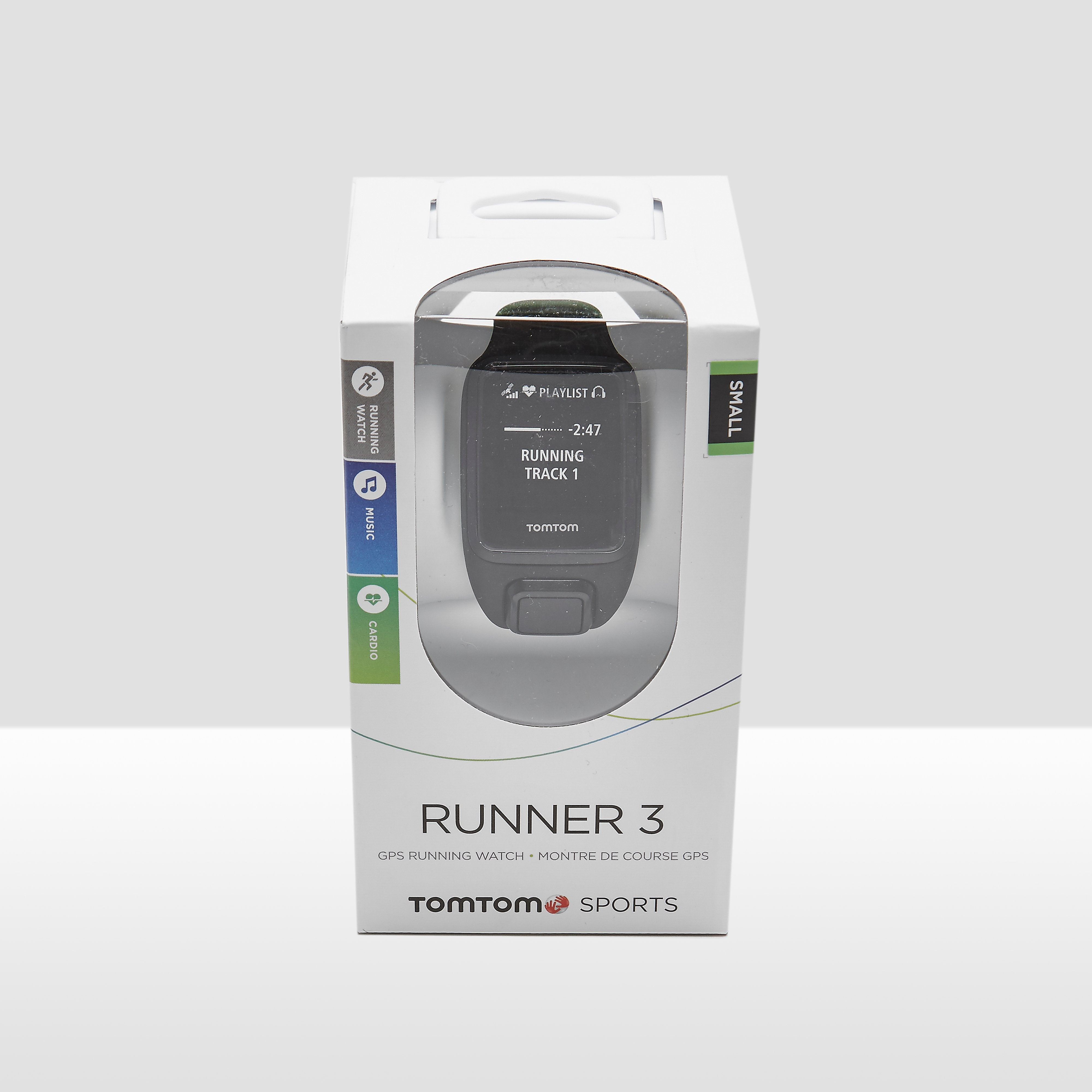 TOMTOM R3 CARDIO+MUSIC+GPS S