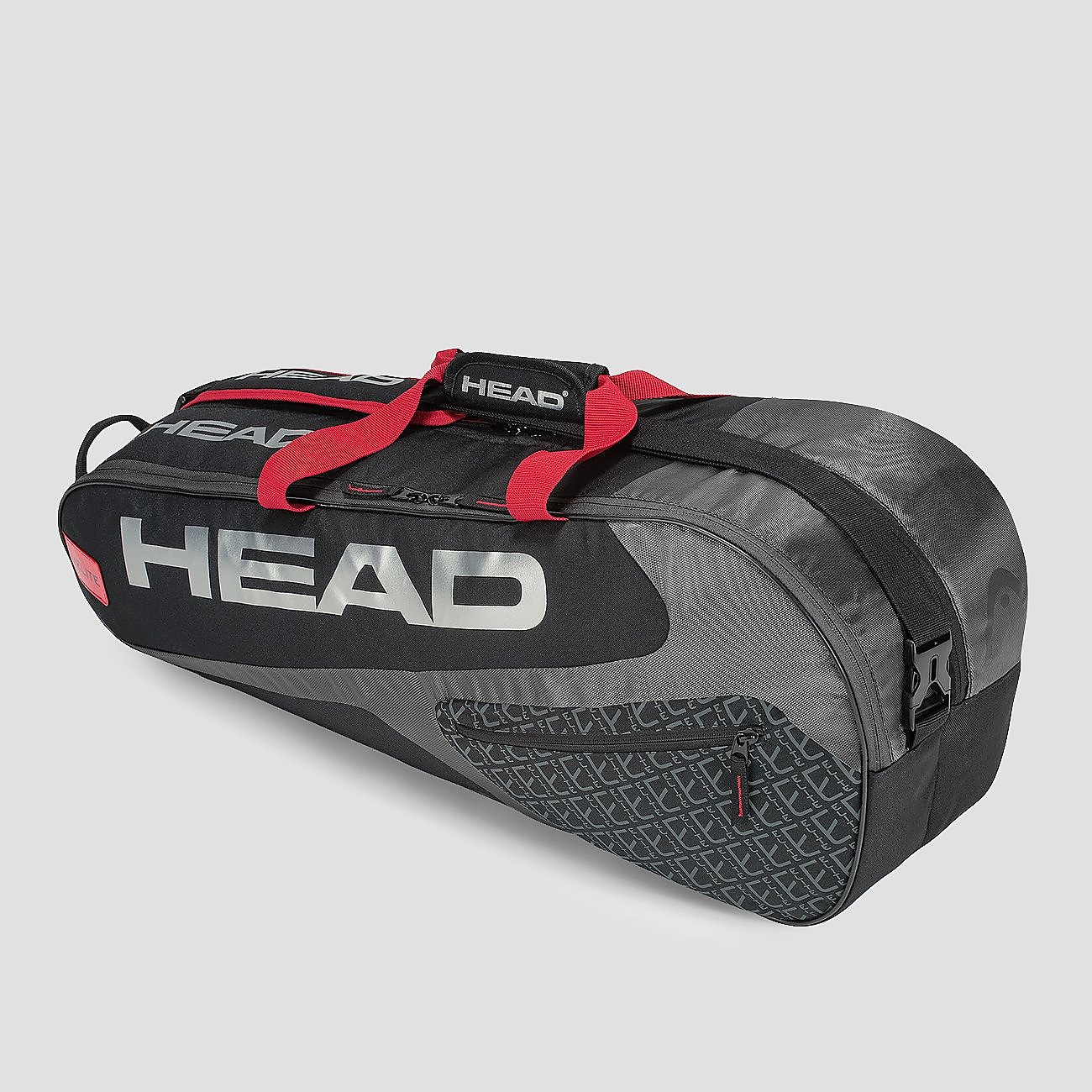 HEAD ELITE 6 RACKETS COMBI TENNISTAS ZWART/GRIJS