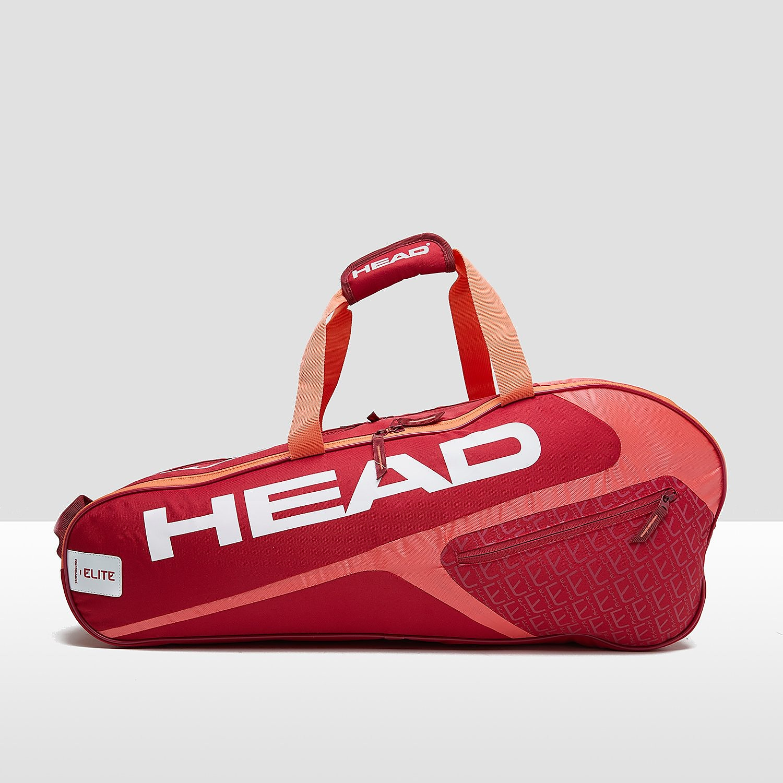 HEAD ELITE 6R COMBI TENNISTAS ROZE/ORANJE