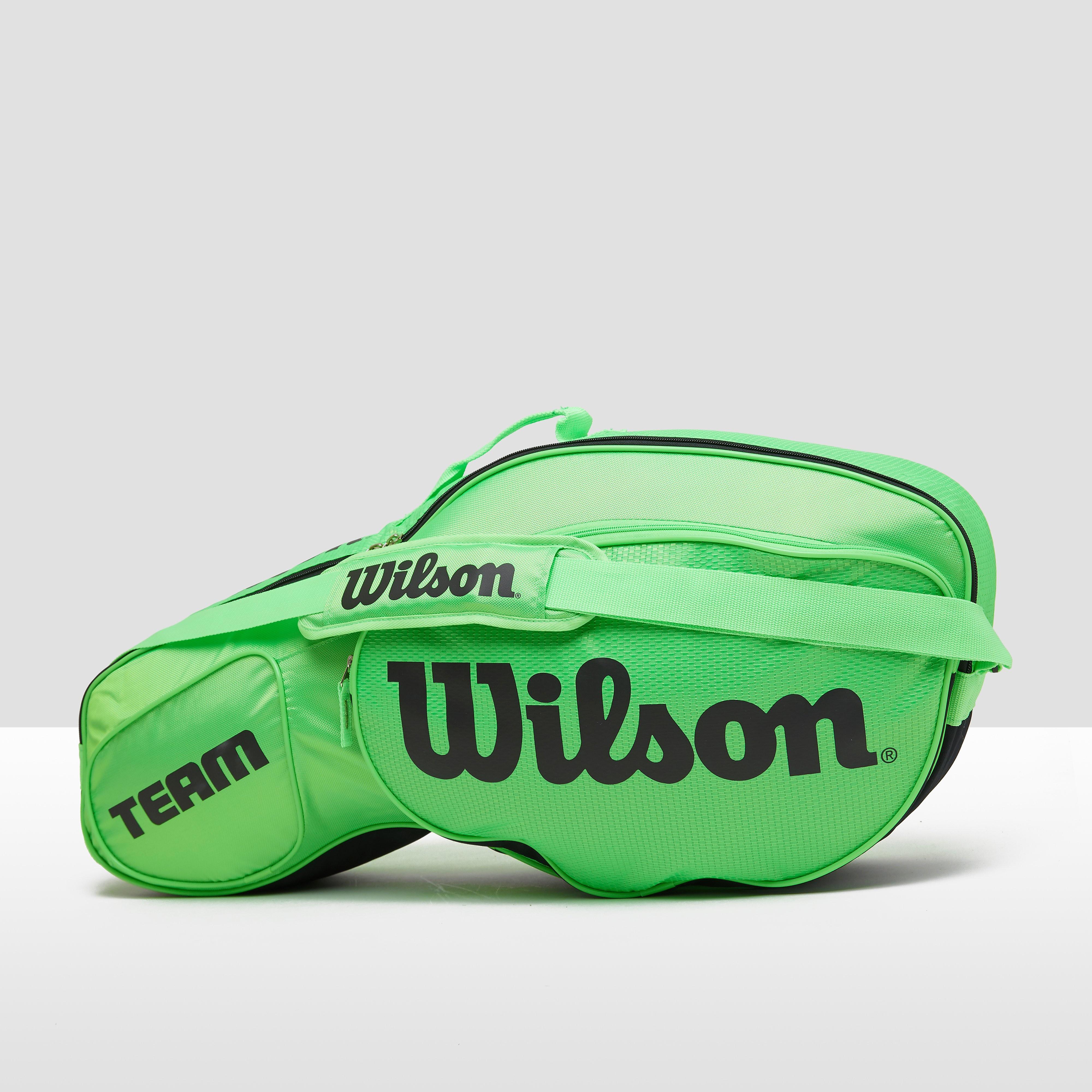 WILSON TEAM III TENNISTAS GROEN/ZWART