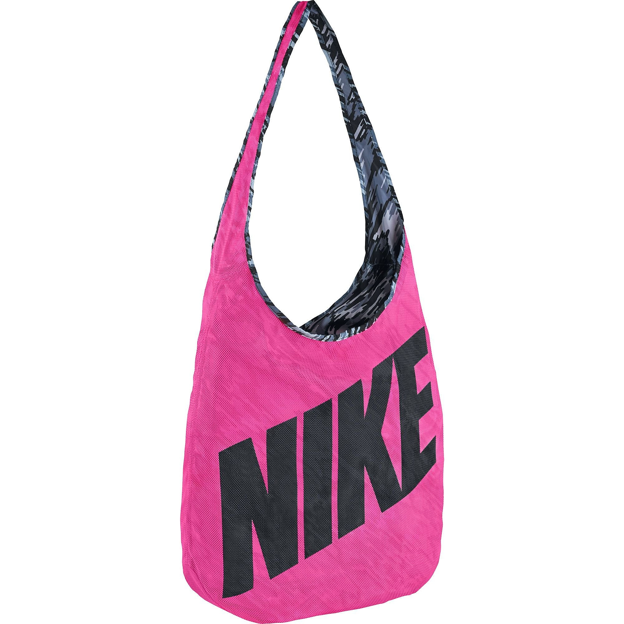 NIKE GRAPHIC REVERSIBLE SPORTTAS ROZE