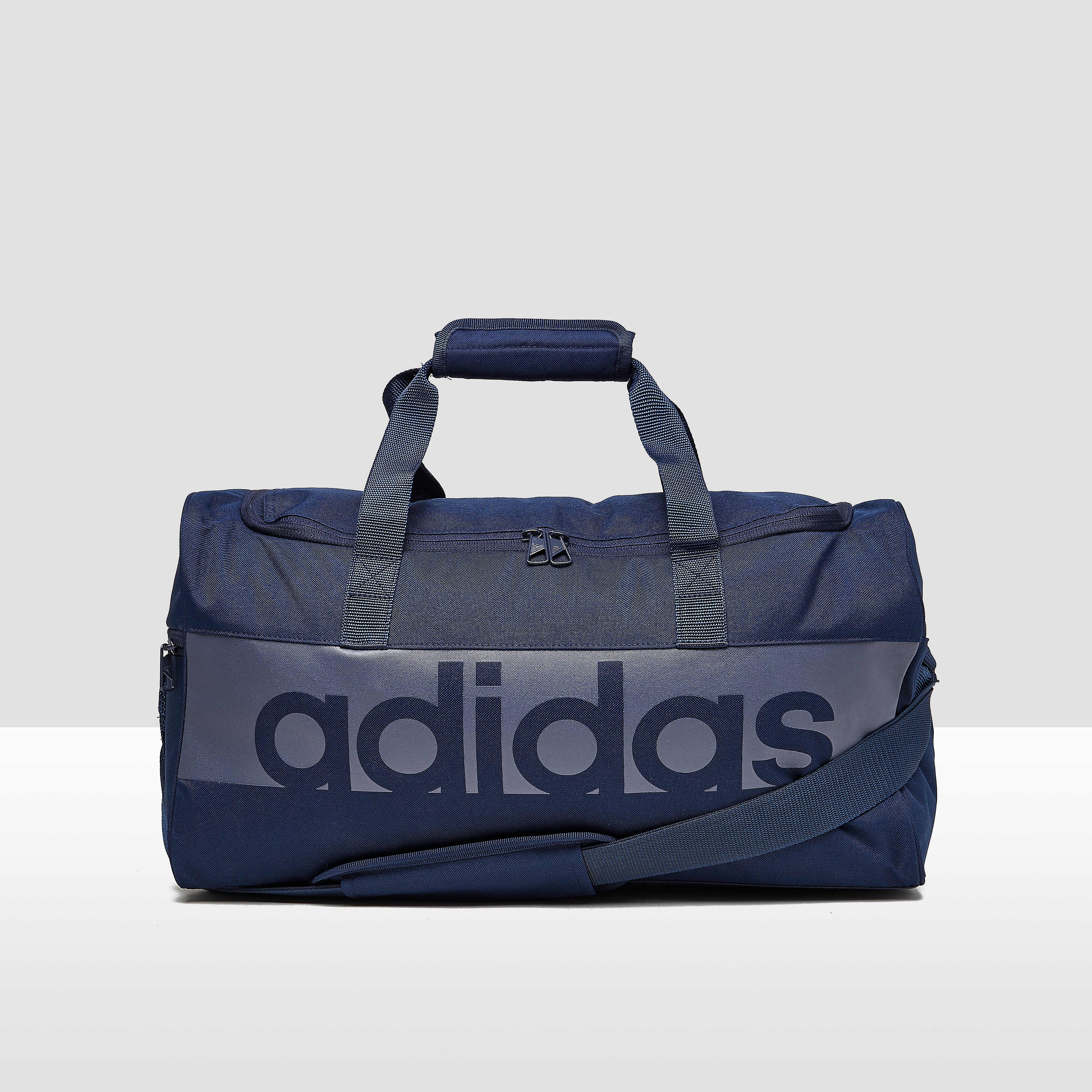 ADIDAS LINEAR PERFORMANCE SPORTTAS SMALL BLAUW