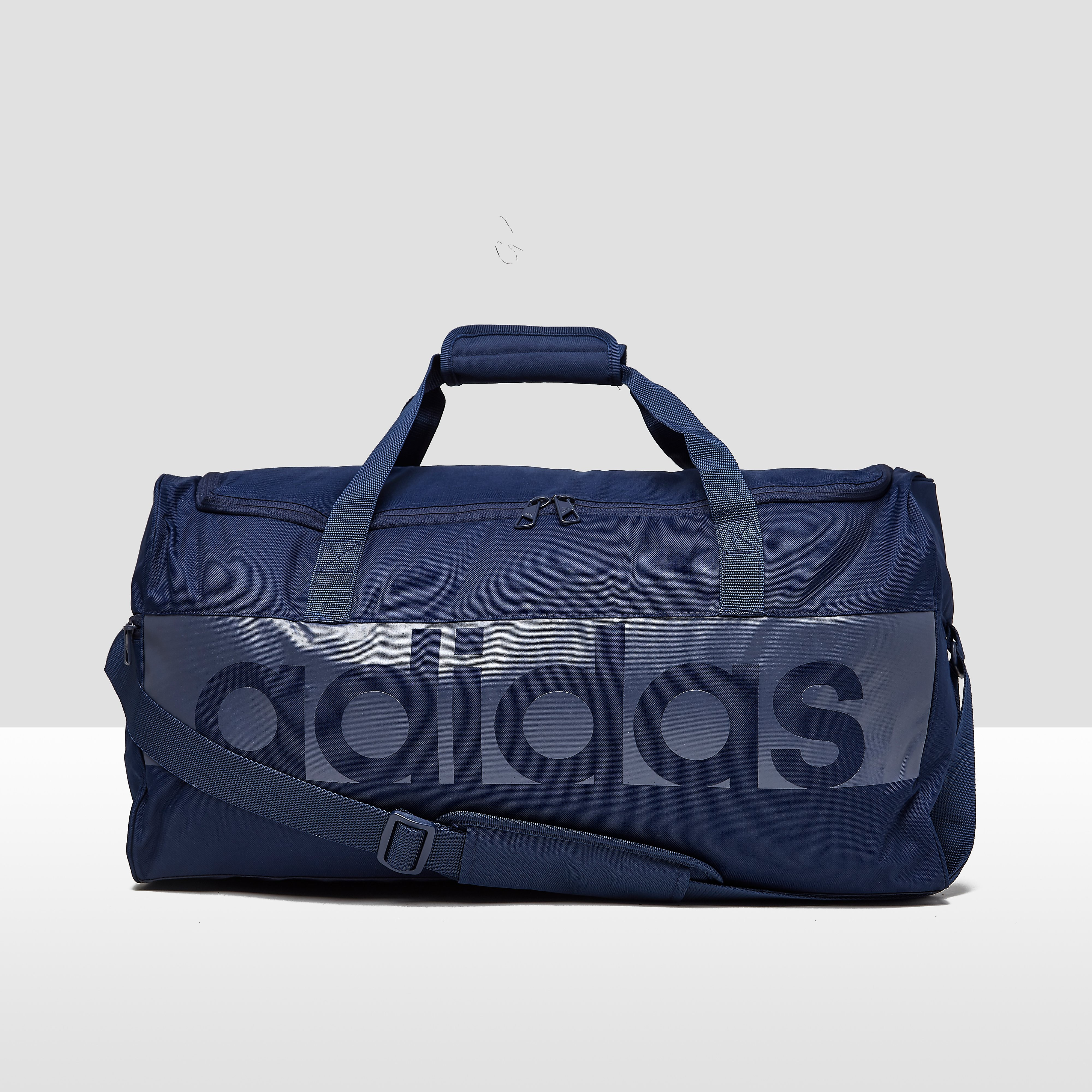 ADIDAS LINEAR PERFORMANCE SPORTTAS MEDIUM BLAUW