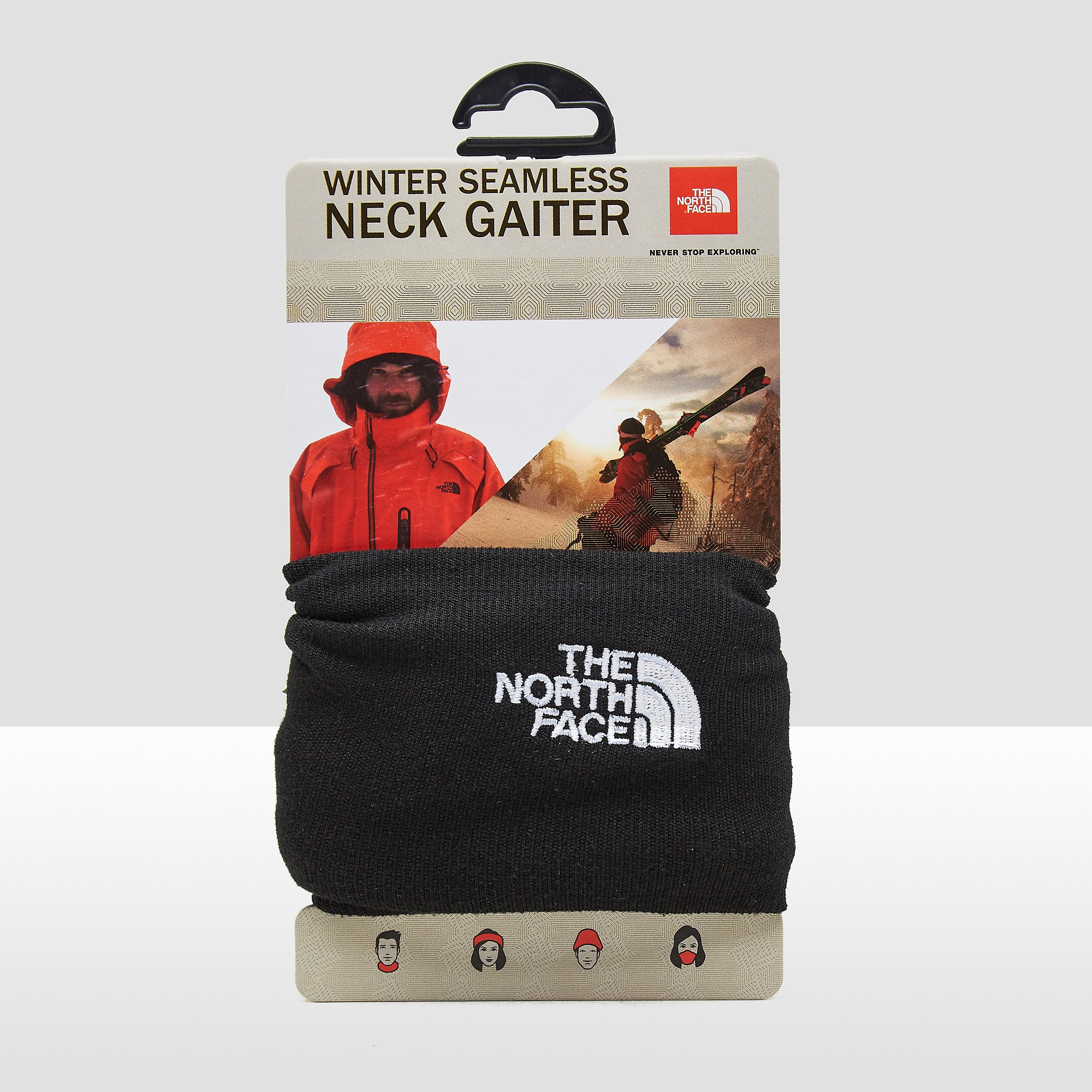 THE NORTH FACE WINTER SEAMLESS SJAAL ZWART
