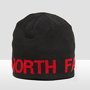 THE NORTH FACE REVERSIBLE MUTS ZWART/ROOD