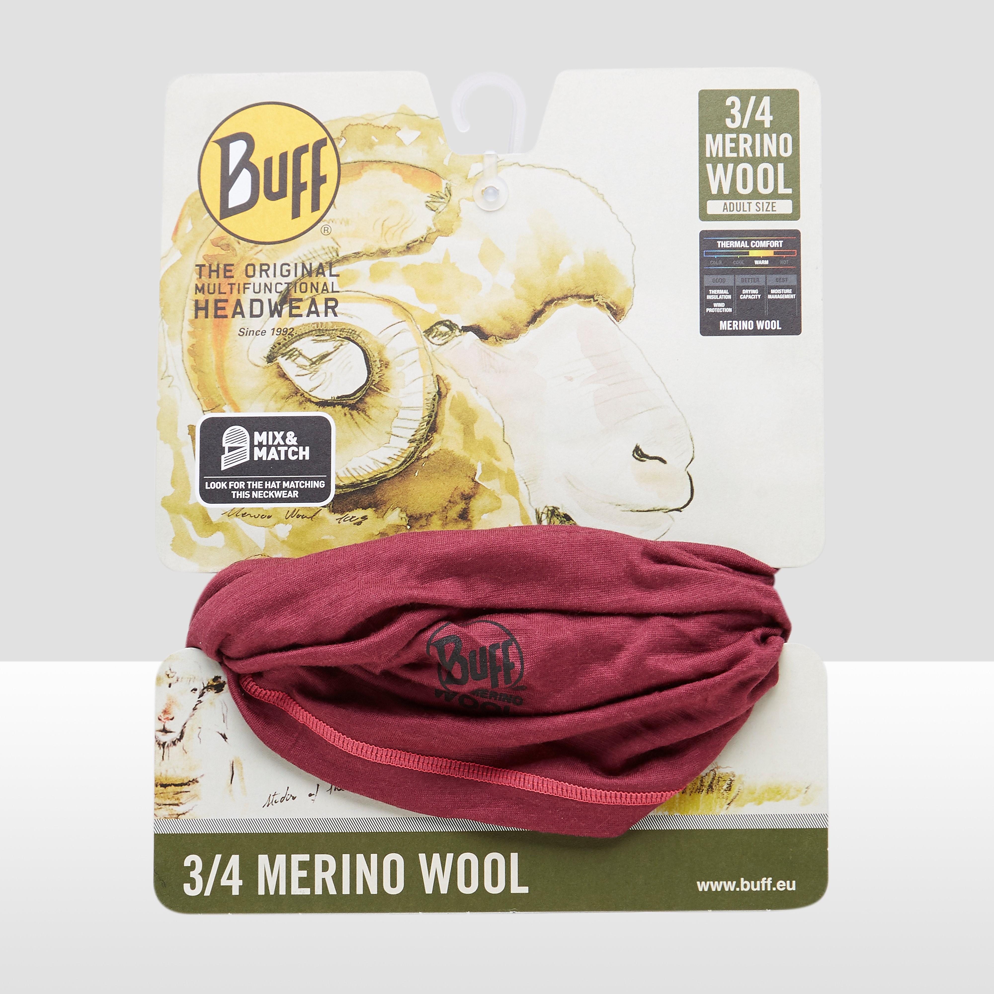 BUFF 3/4 MERINO WOOL BUFF