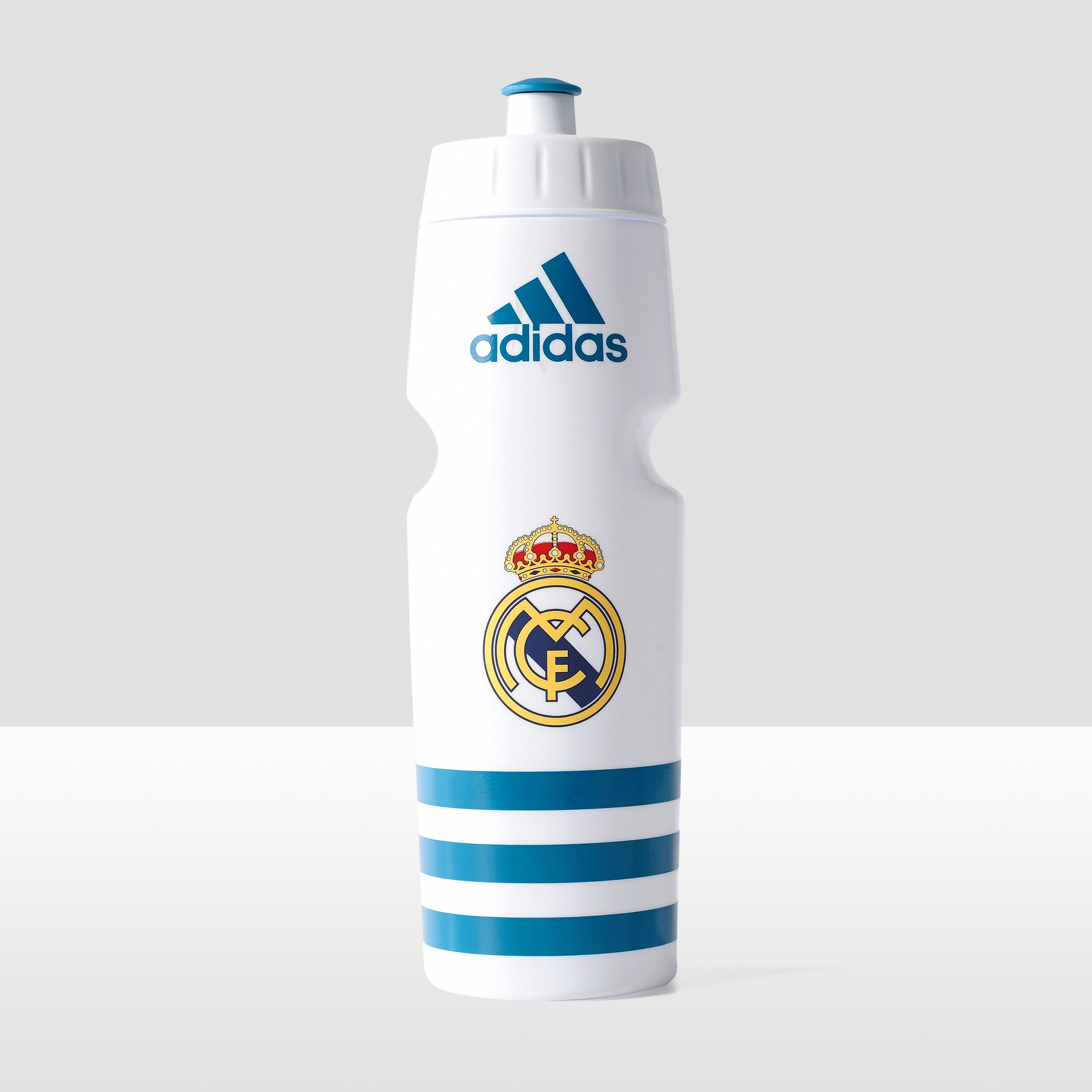 ADIDAS REAL MADRID BIDON WIT/TURQUOISE