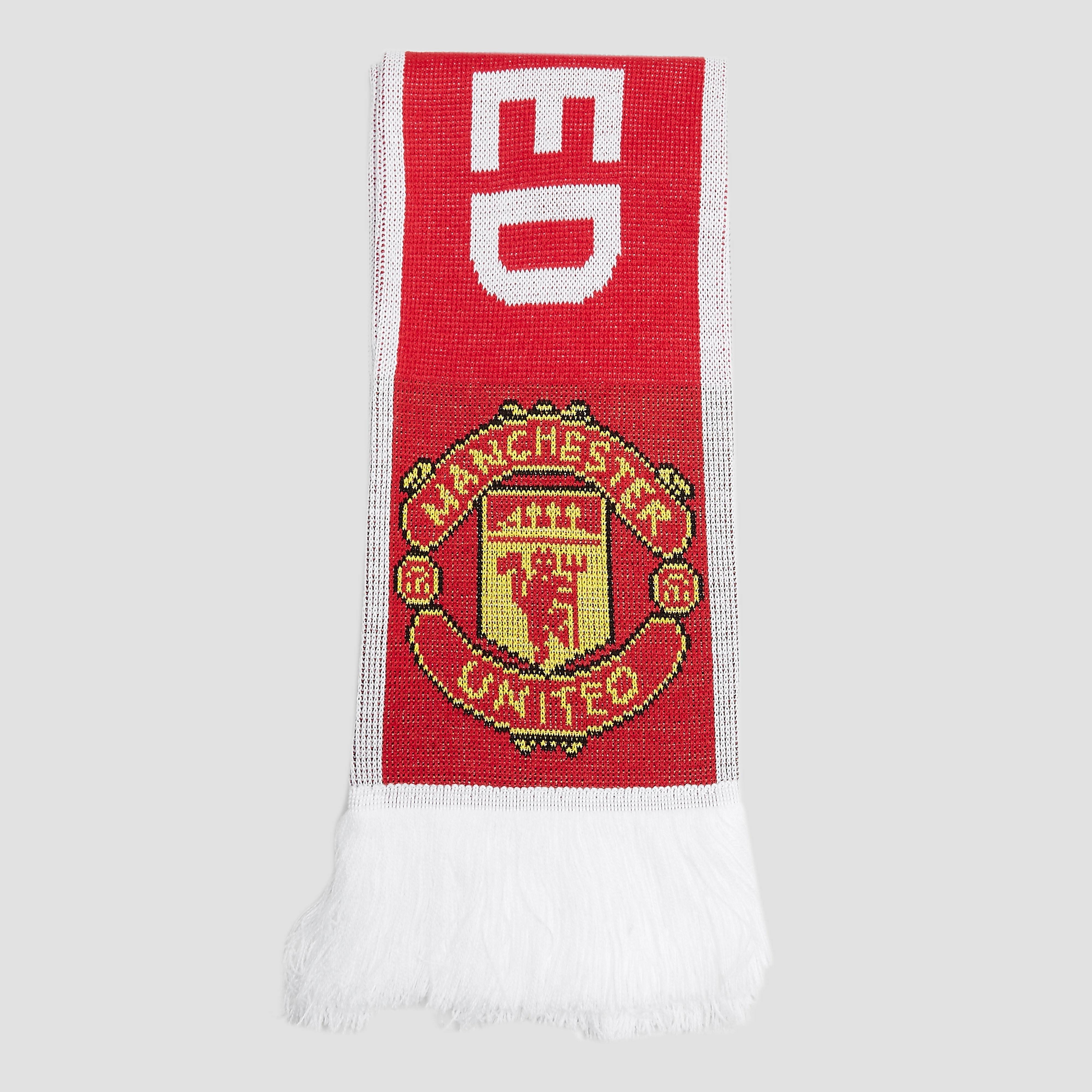 ADIDAS MANCHESTER UNITED FC SJAAL ROOD/WIT HEREN