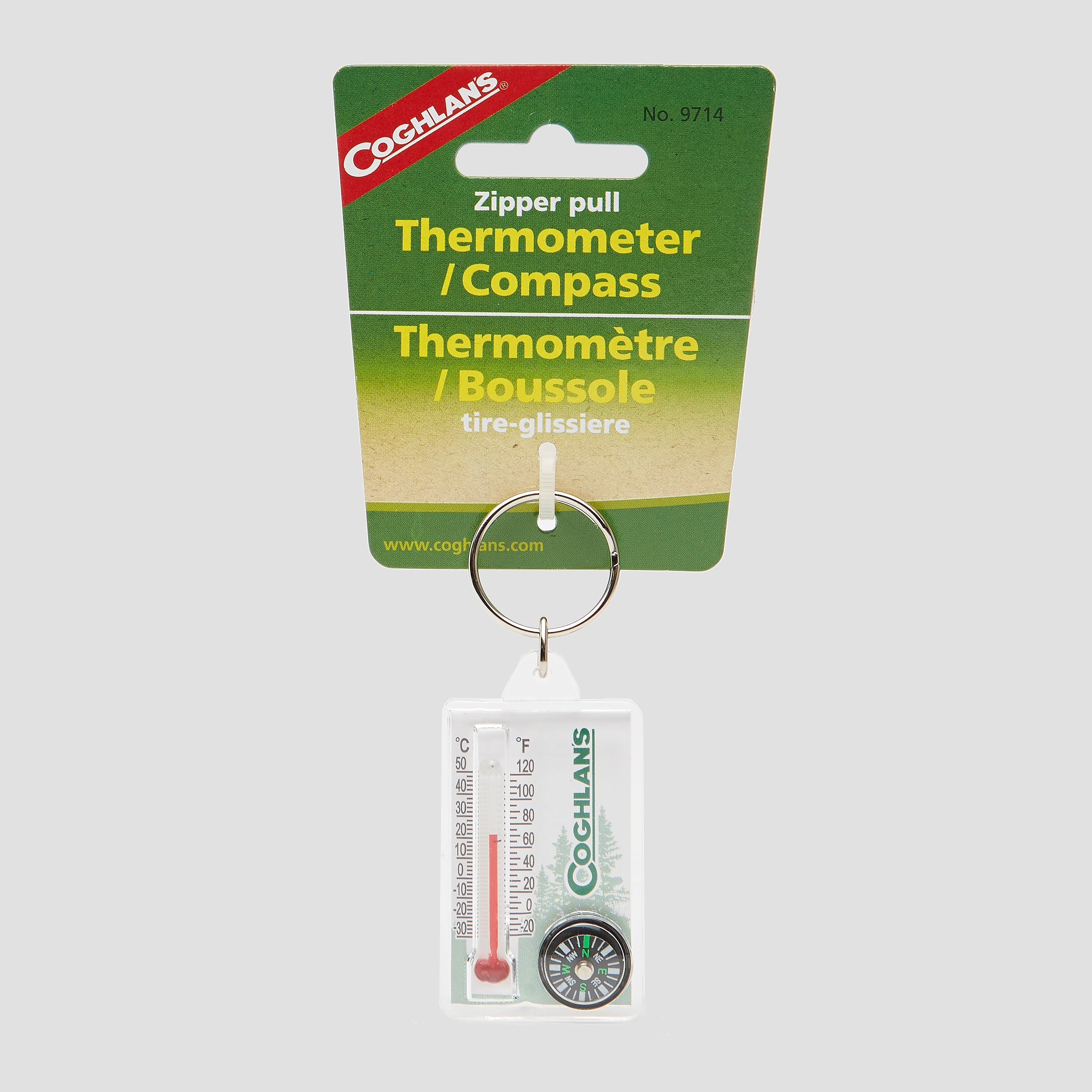 COGHLAN ZIPPER PULL THERM/COMPASS
