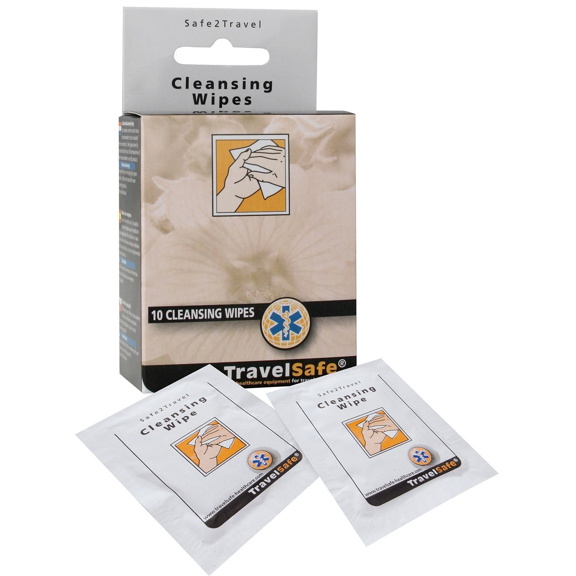 TRAVELSAFE CLEANSING WIPES