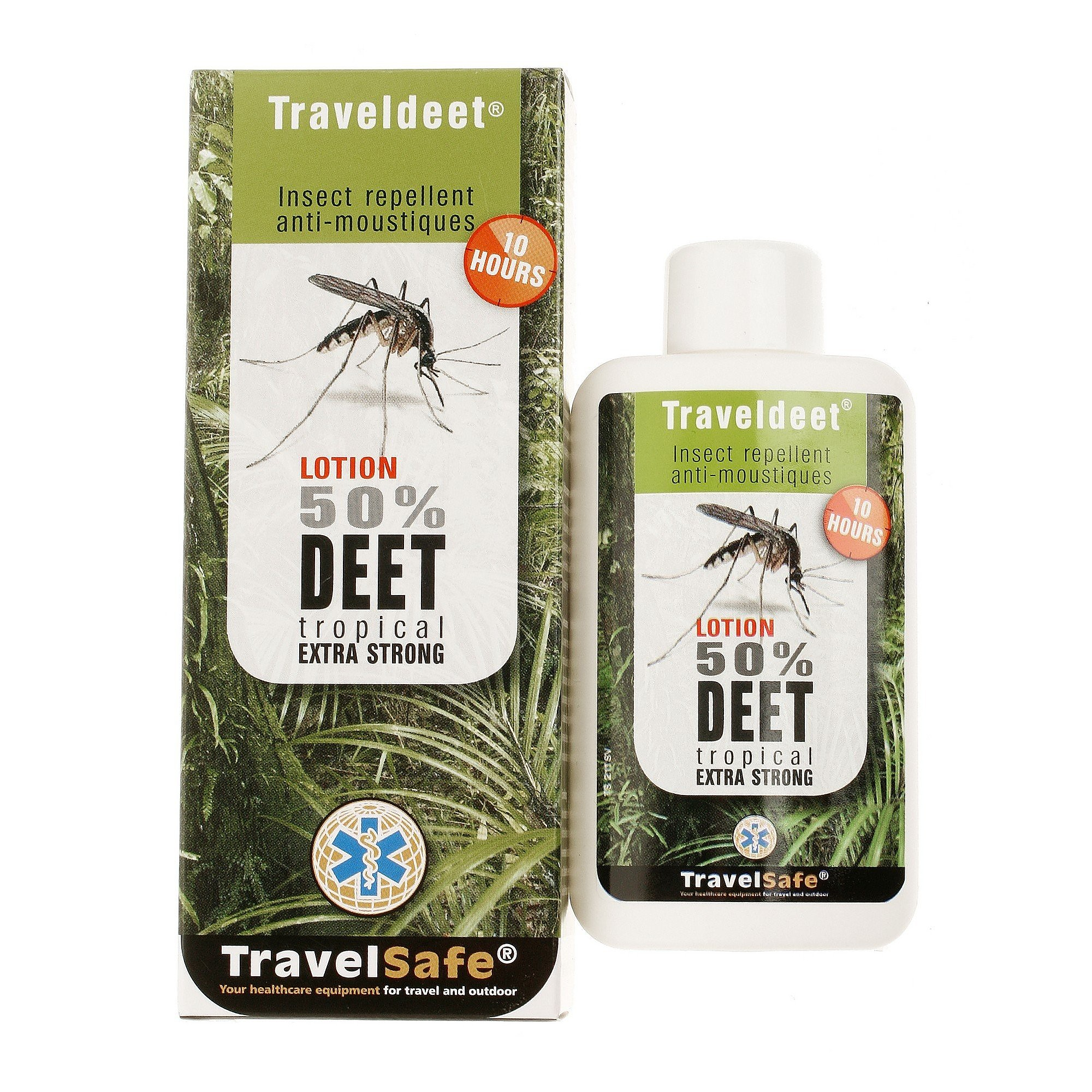 TRAVELSAFE TRAVELDEET 50 LOTION