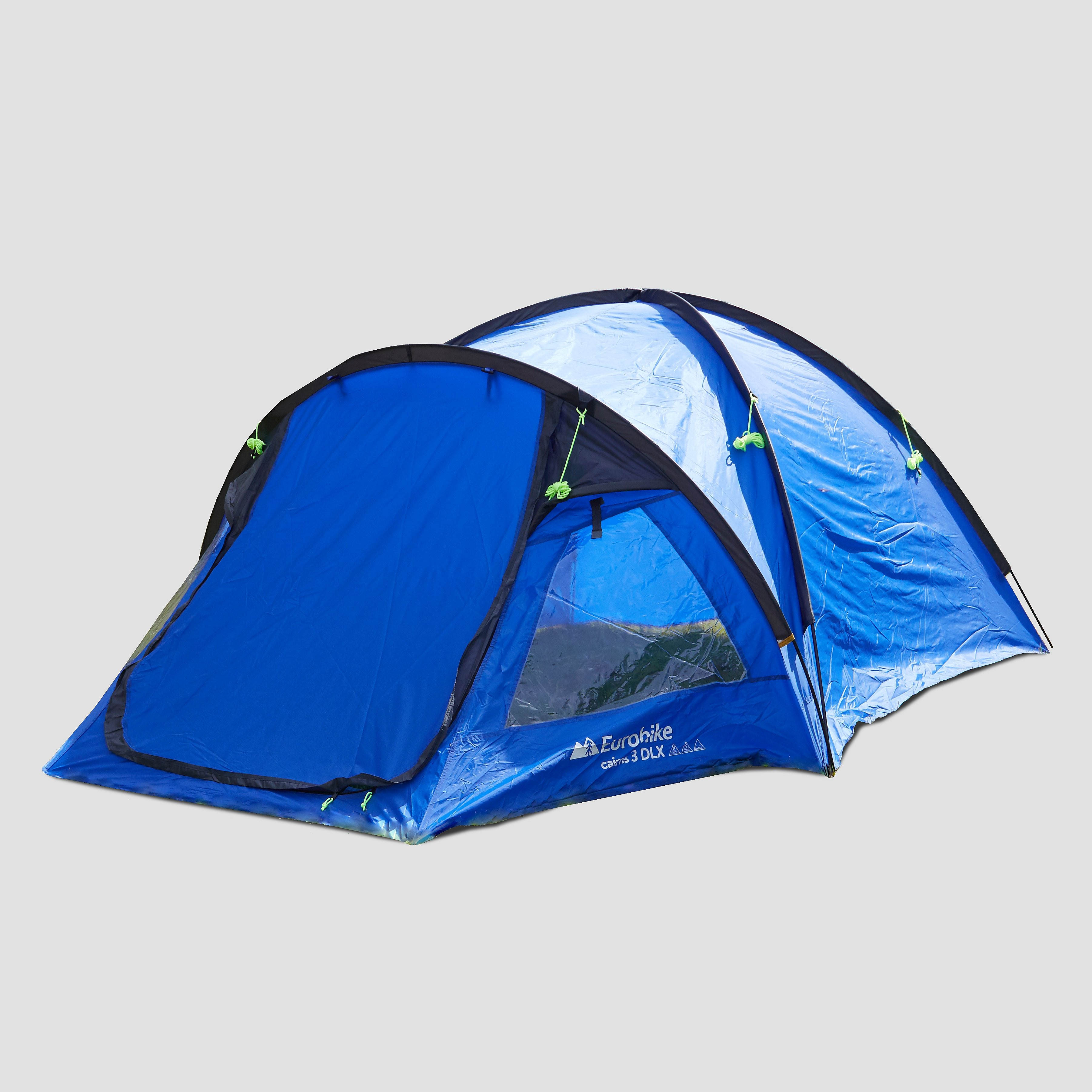 EUROHIKE EH CAIRNS 3 DLX TENT BLAUW