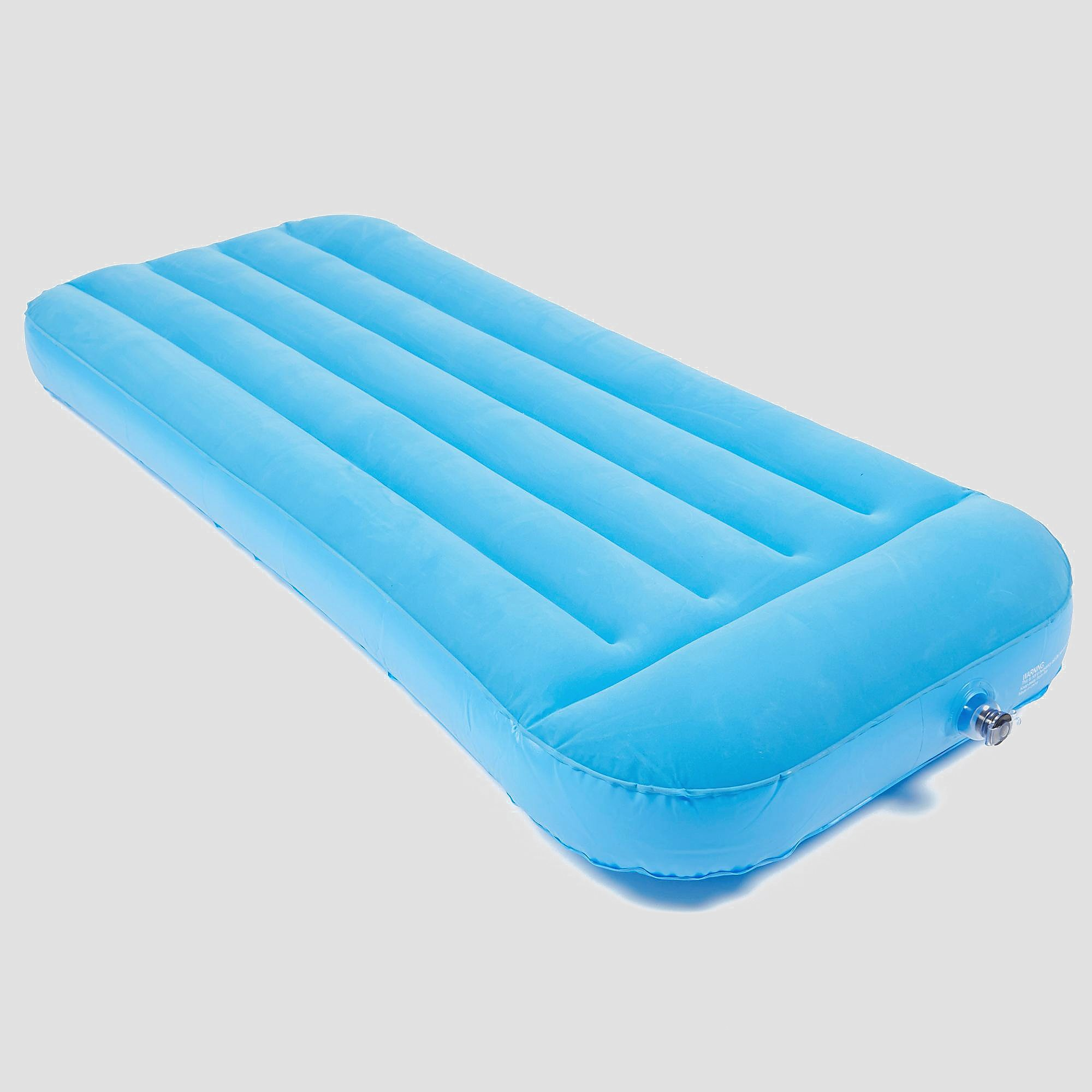 EUROHIKE FLOCK AIRBED SINGLE