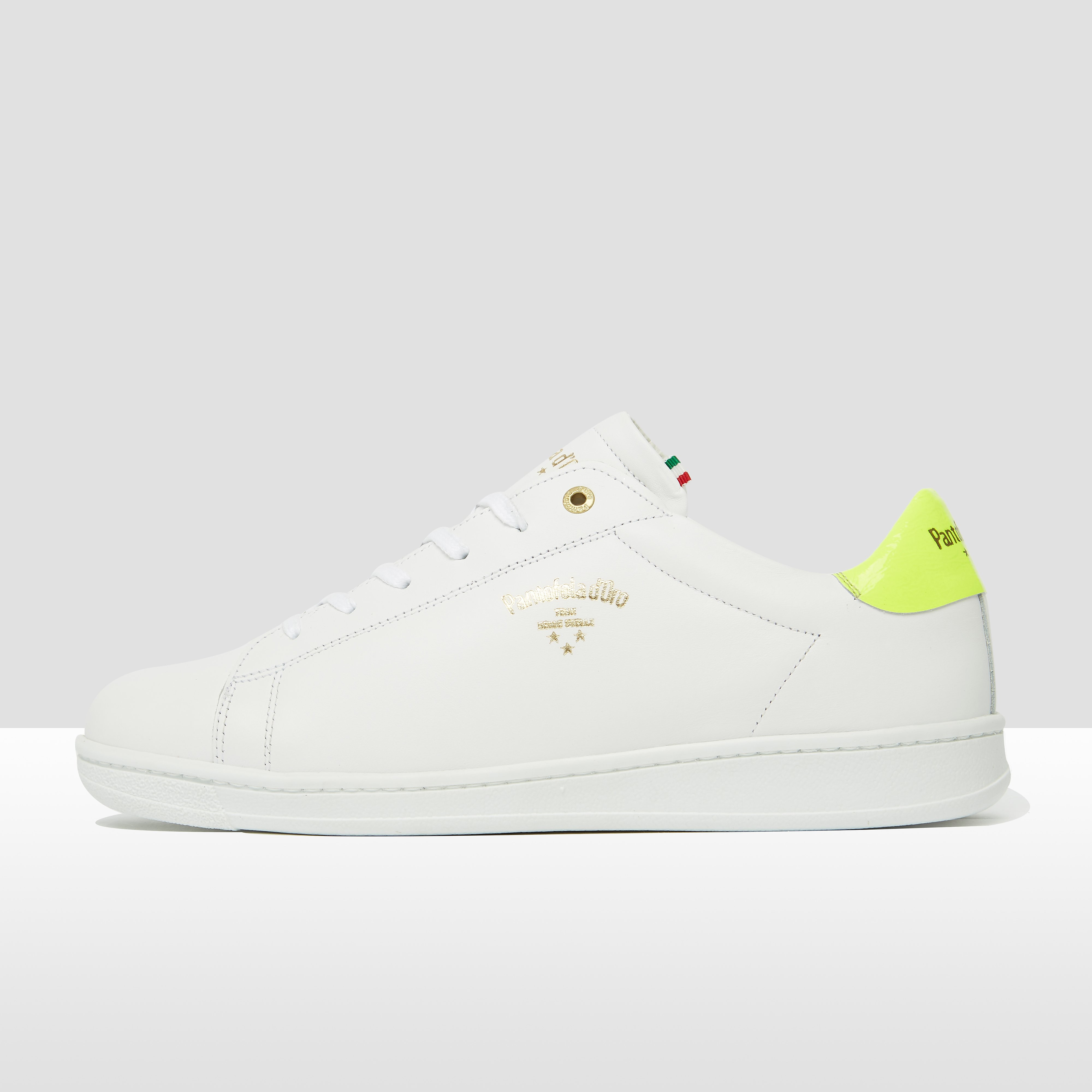PANTOFOLA D'ORO NERETO LOW SNEAKERS WIT HEREN