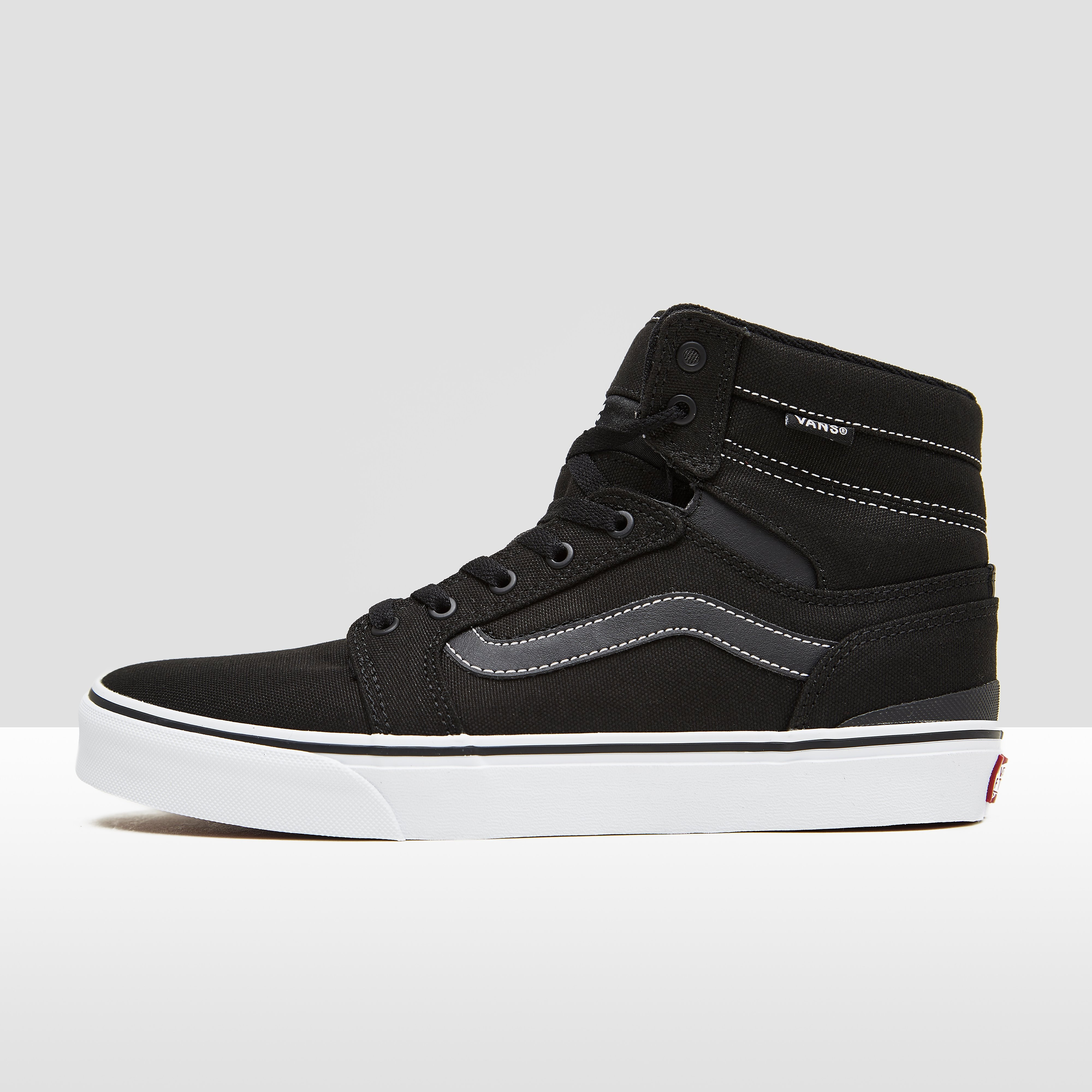 VANS SANCTION SNEAKERS ZWART HEREN