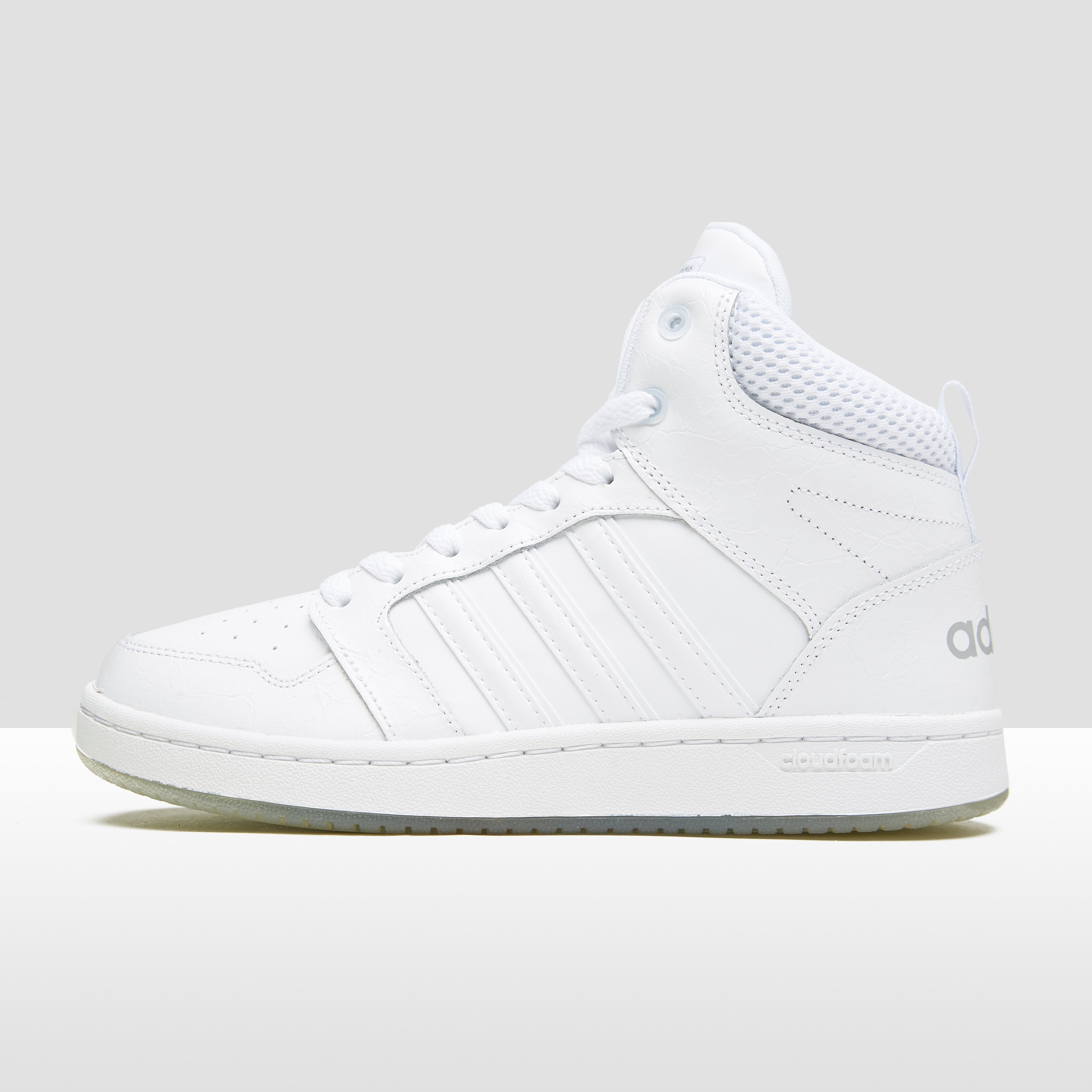 ADIDAS CLOUDFOAM SUPERHOOPS MID SNEAKERS WIT DAMES