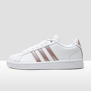 adidas cloudfoam super hoops mid sneakers wit dames