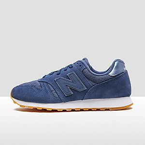 new balance dames blauw wit