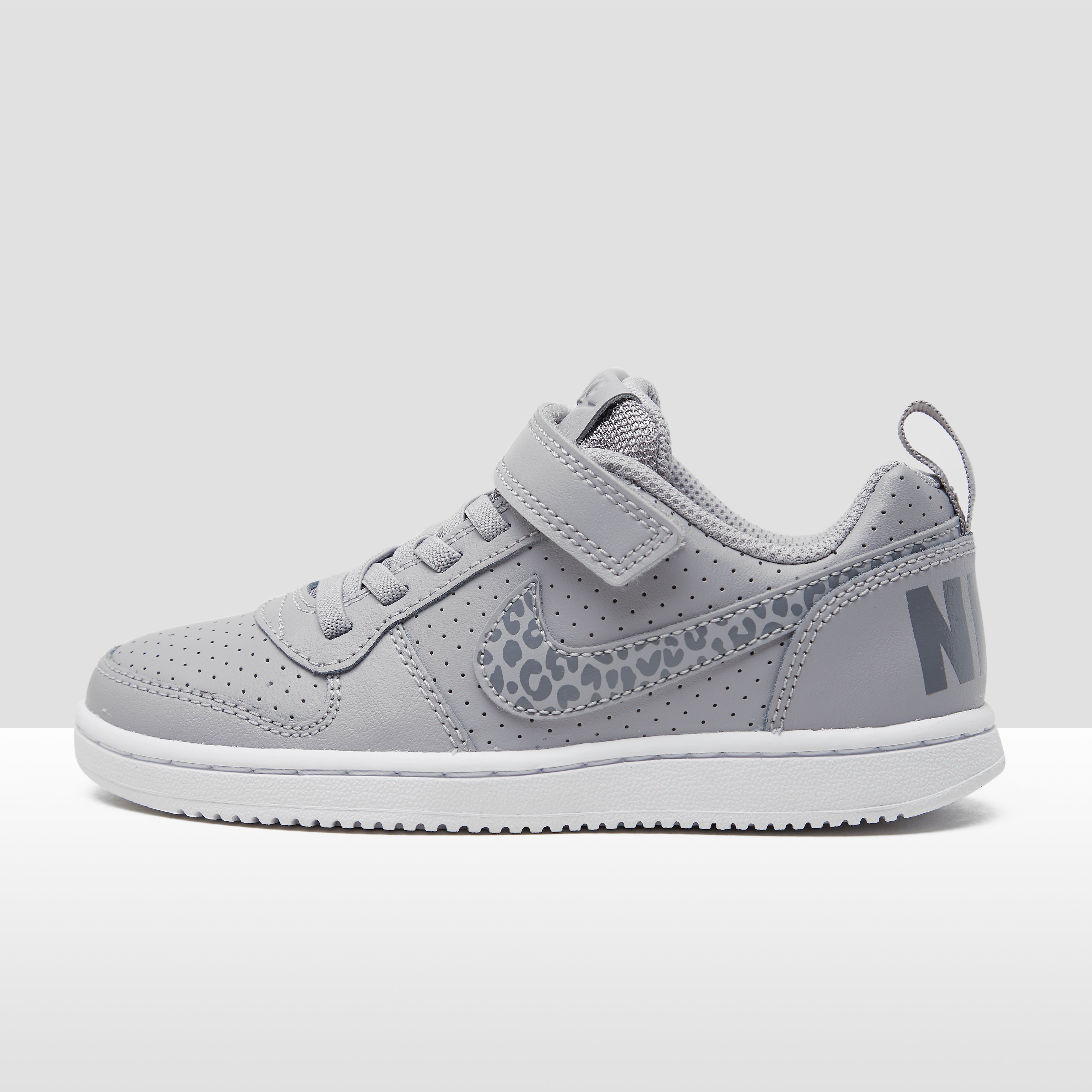 NIKE COURT BOROUGH LOW SNEAKERS GRIJS KINDEREN