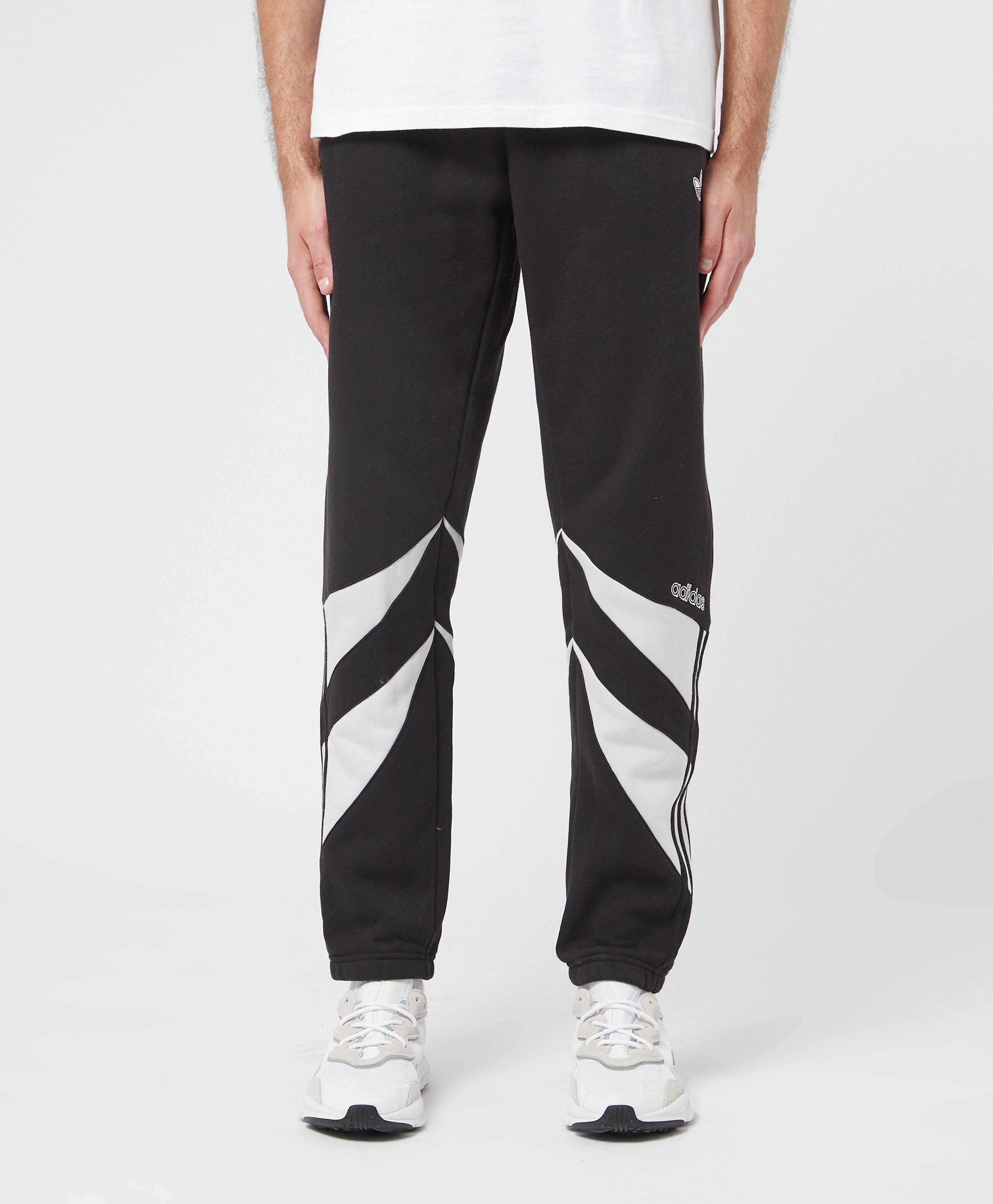 Men's adidas Originals Shark Joggers - Black, Black