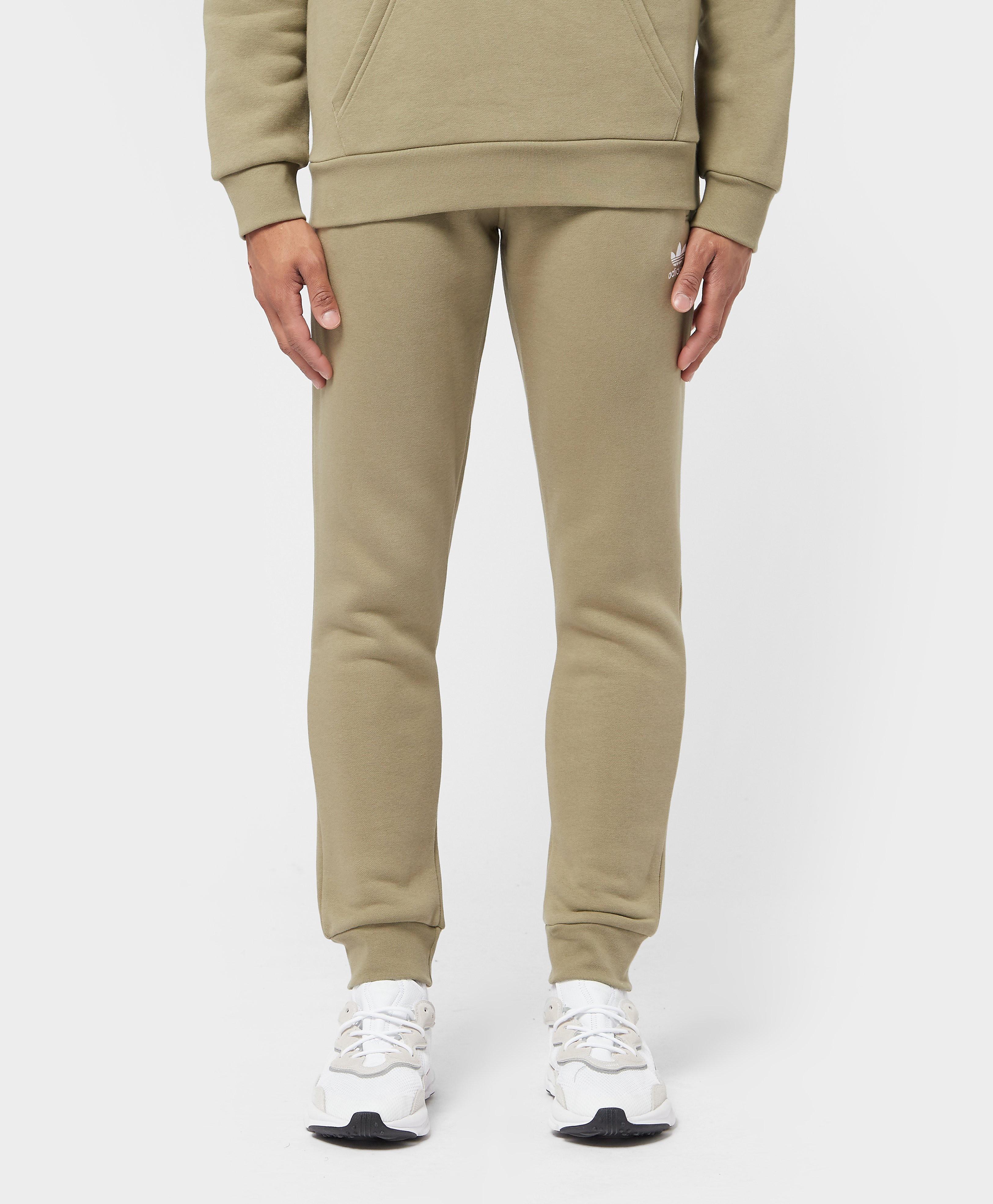 Men's adidas Originals Trefoil Essential Joggers - Green, Green