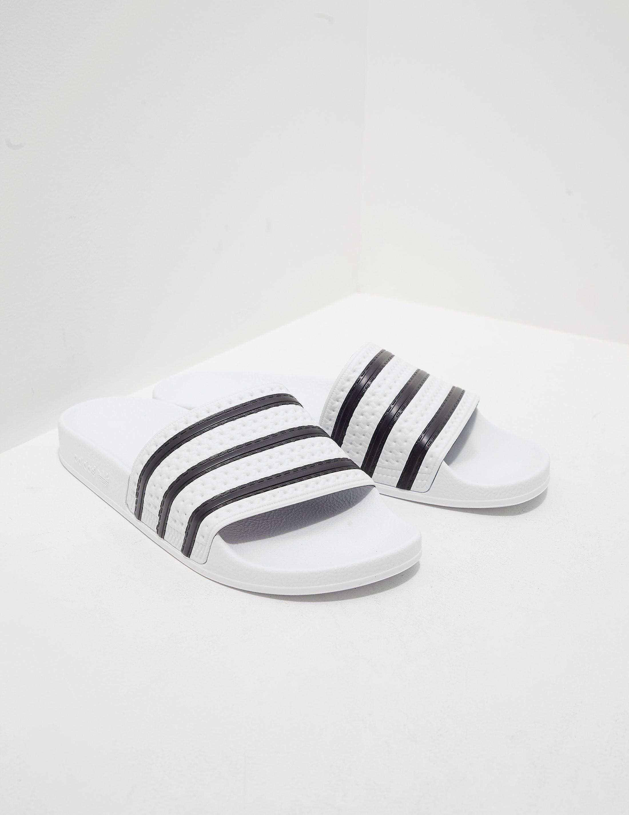41e2b710983db2 Mens adidas Originals Adilette Slides White