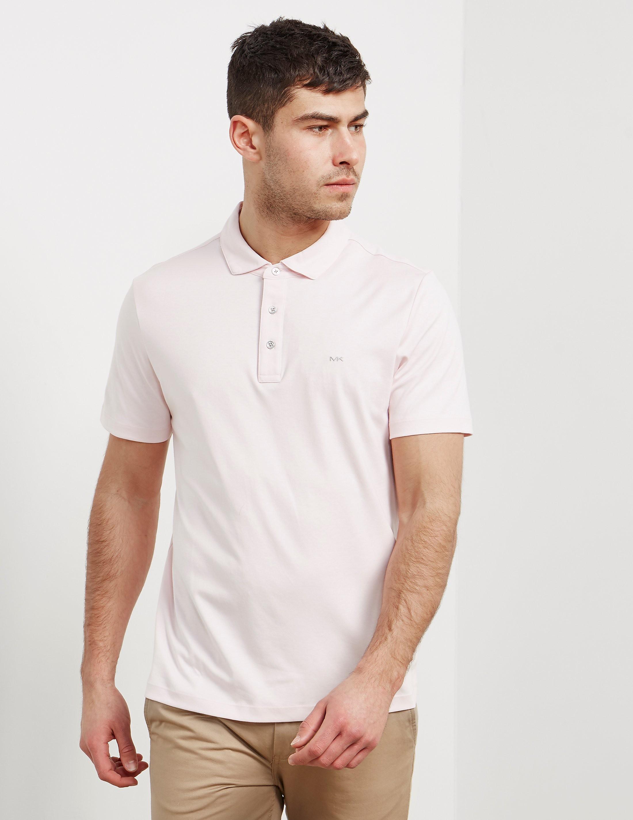 36b429bd Mens Michael Kors Sleek Short Sleeve Polo Shirt Pink, Pink   £35.00 ...