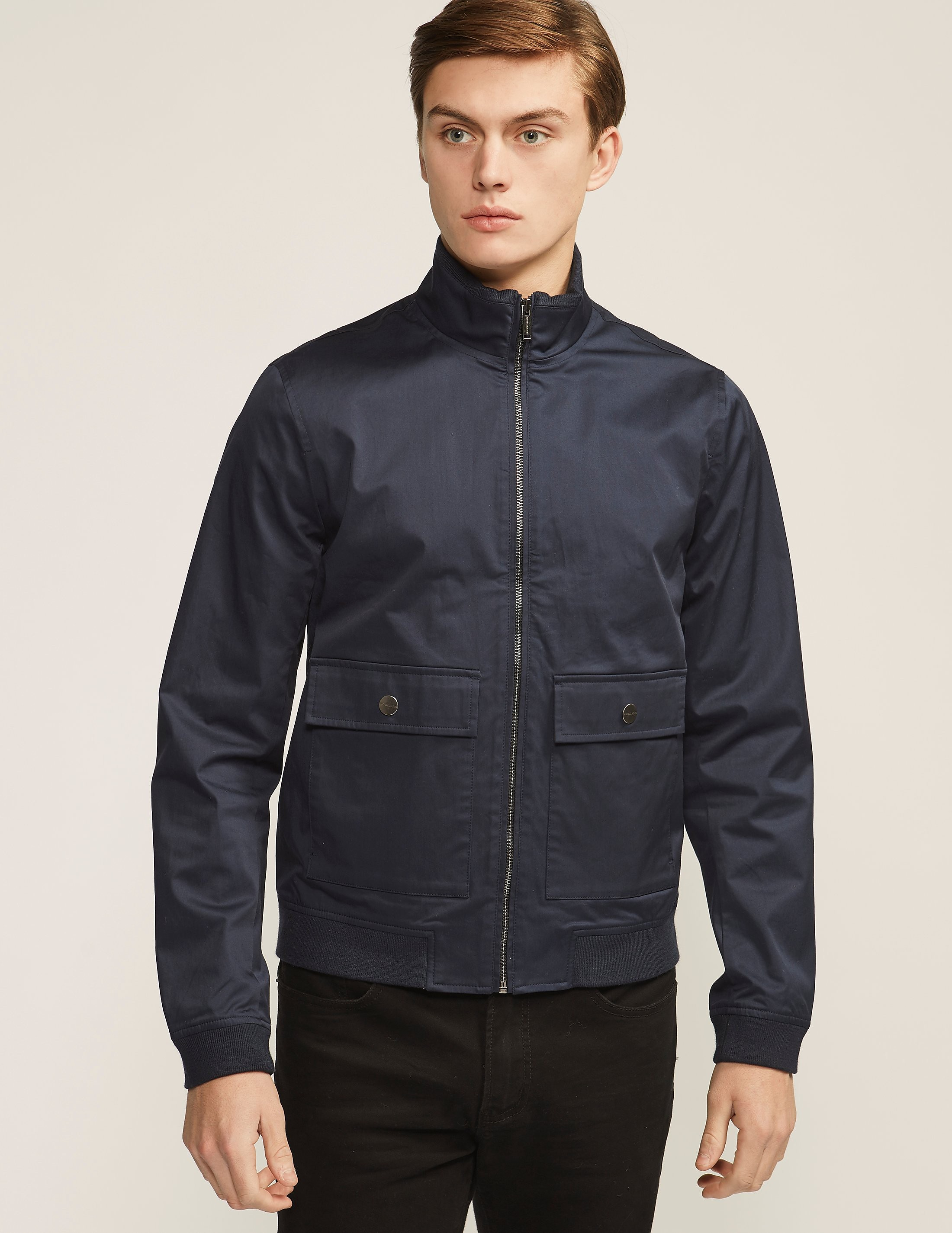 Michael Kors Pocket Bomber Jacket