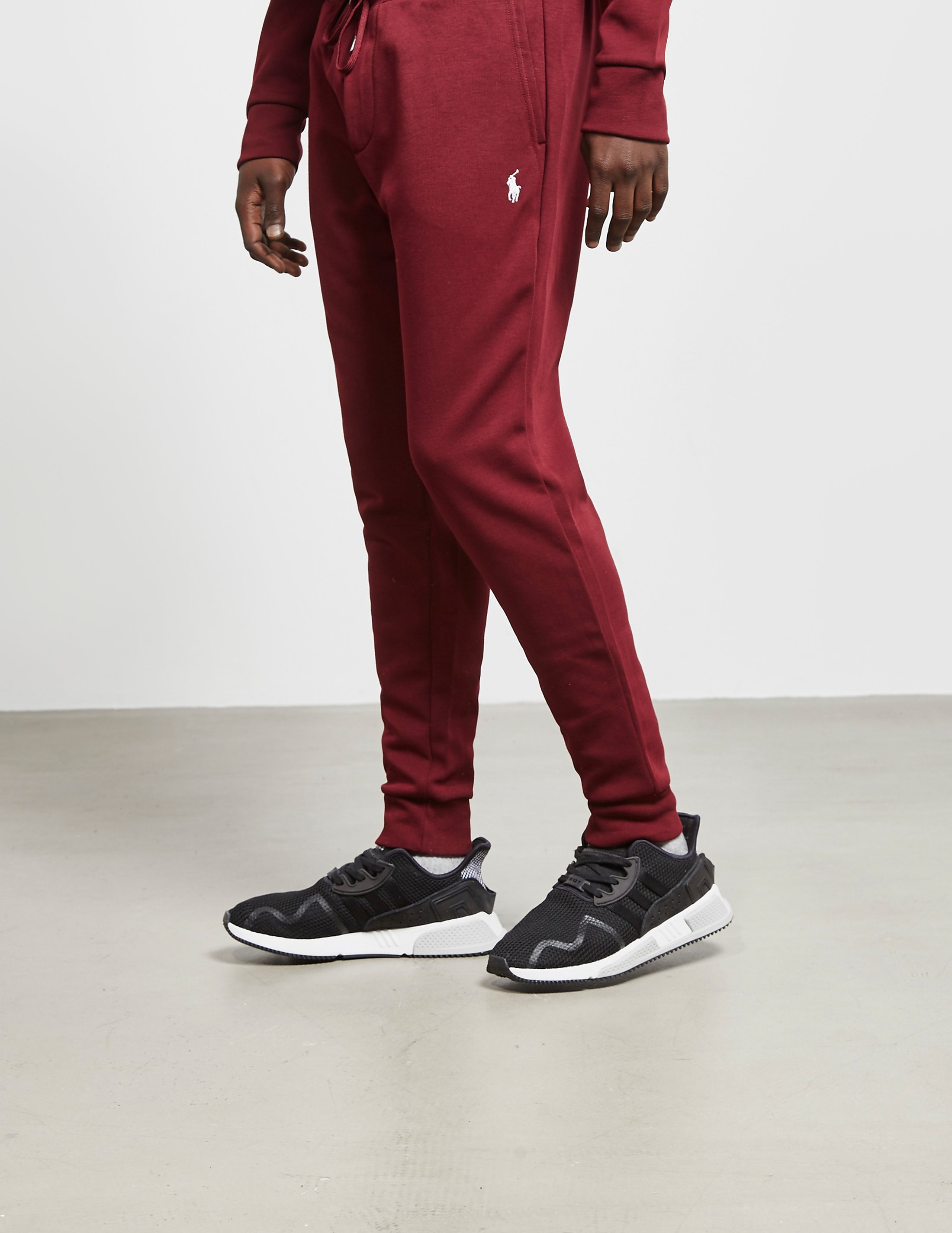 856f159b7856 Mens Polo Ralph Lauren Tech Fleece Track Pants Red