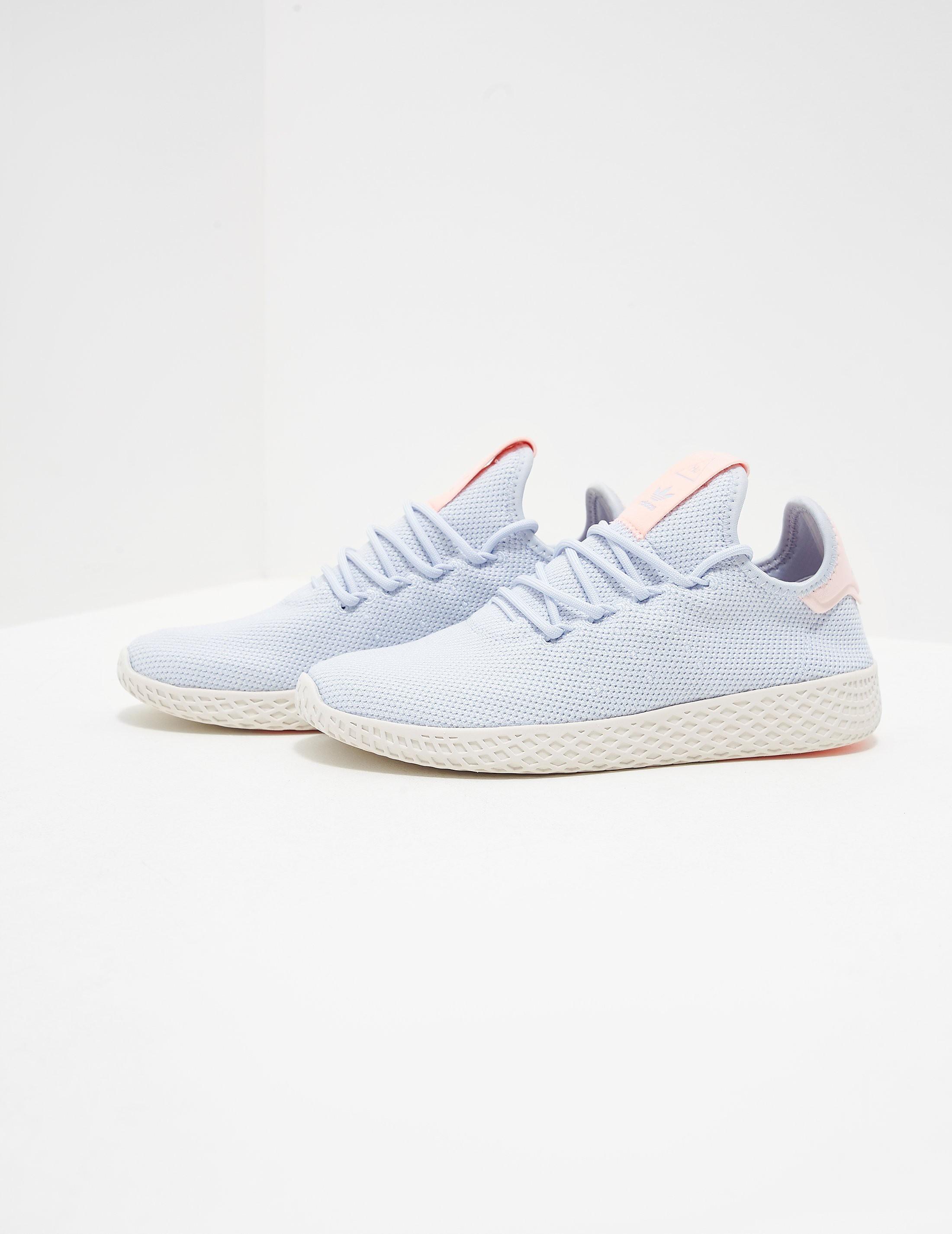 d6ff1b0b2 Womens adidas Originals x Pharrell Williams Tennis HU Trainers Blue ...
