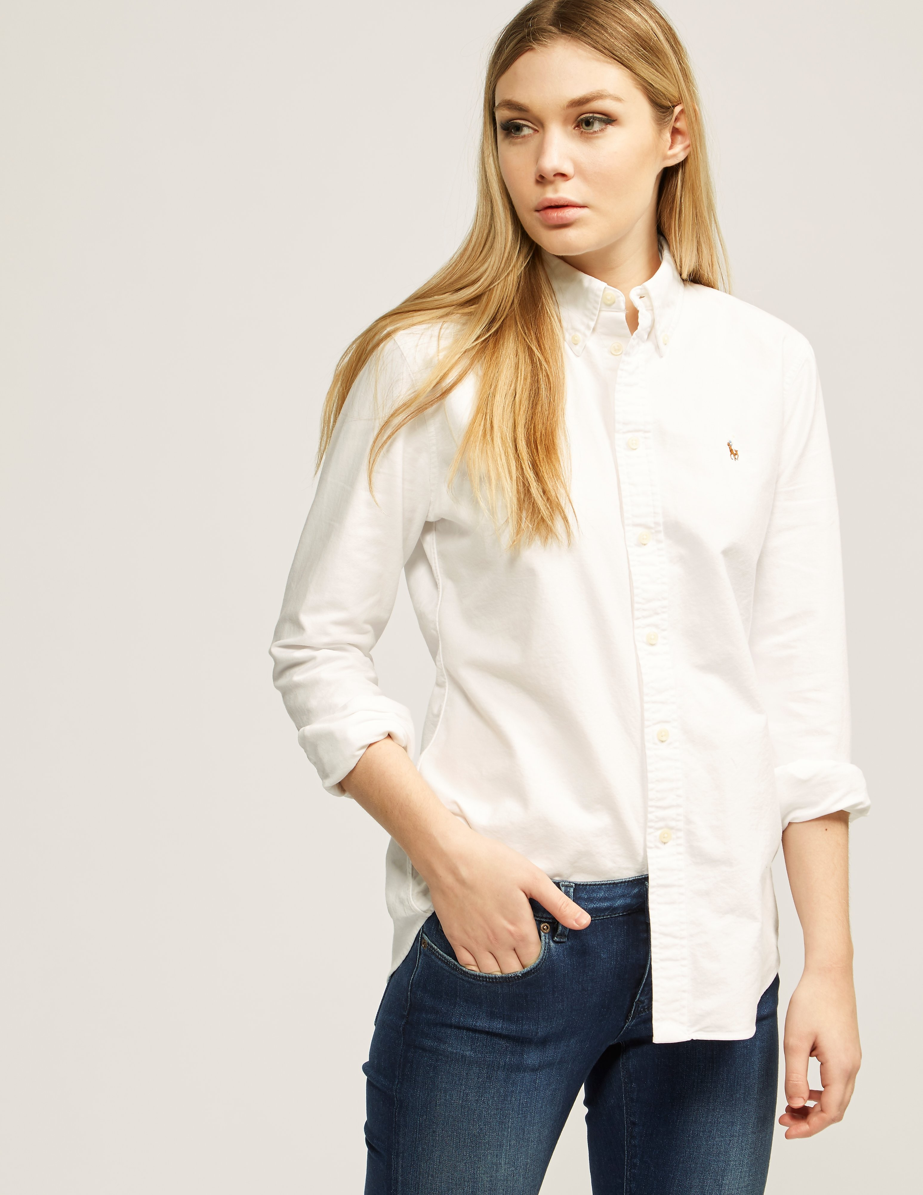 ace8fbe17c6 Womens Polo Ralph Lauren Harper Shirt White