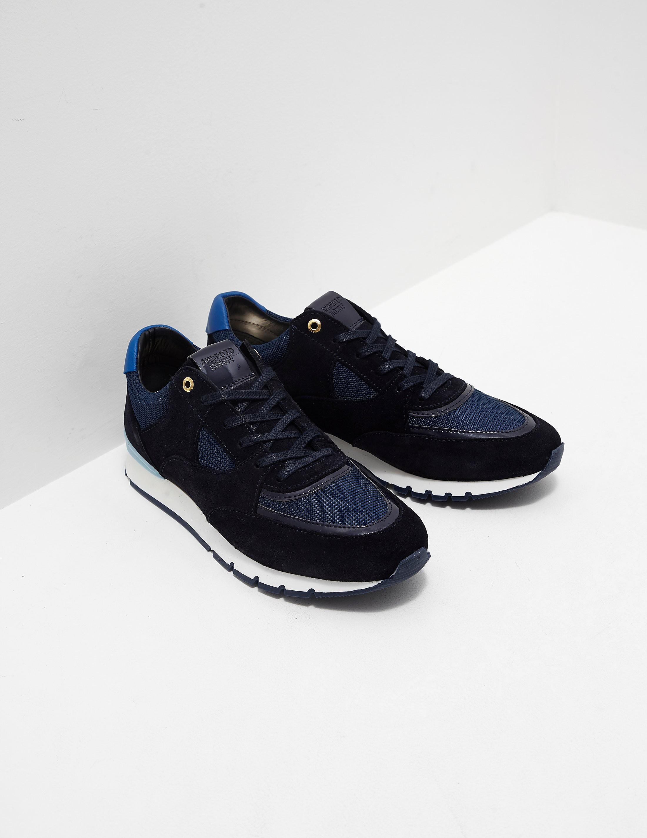 8f18a0cccac Mens Android Homme Belter Runner Navy blue