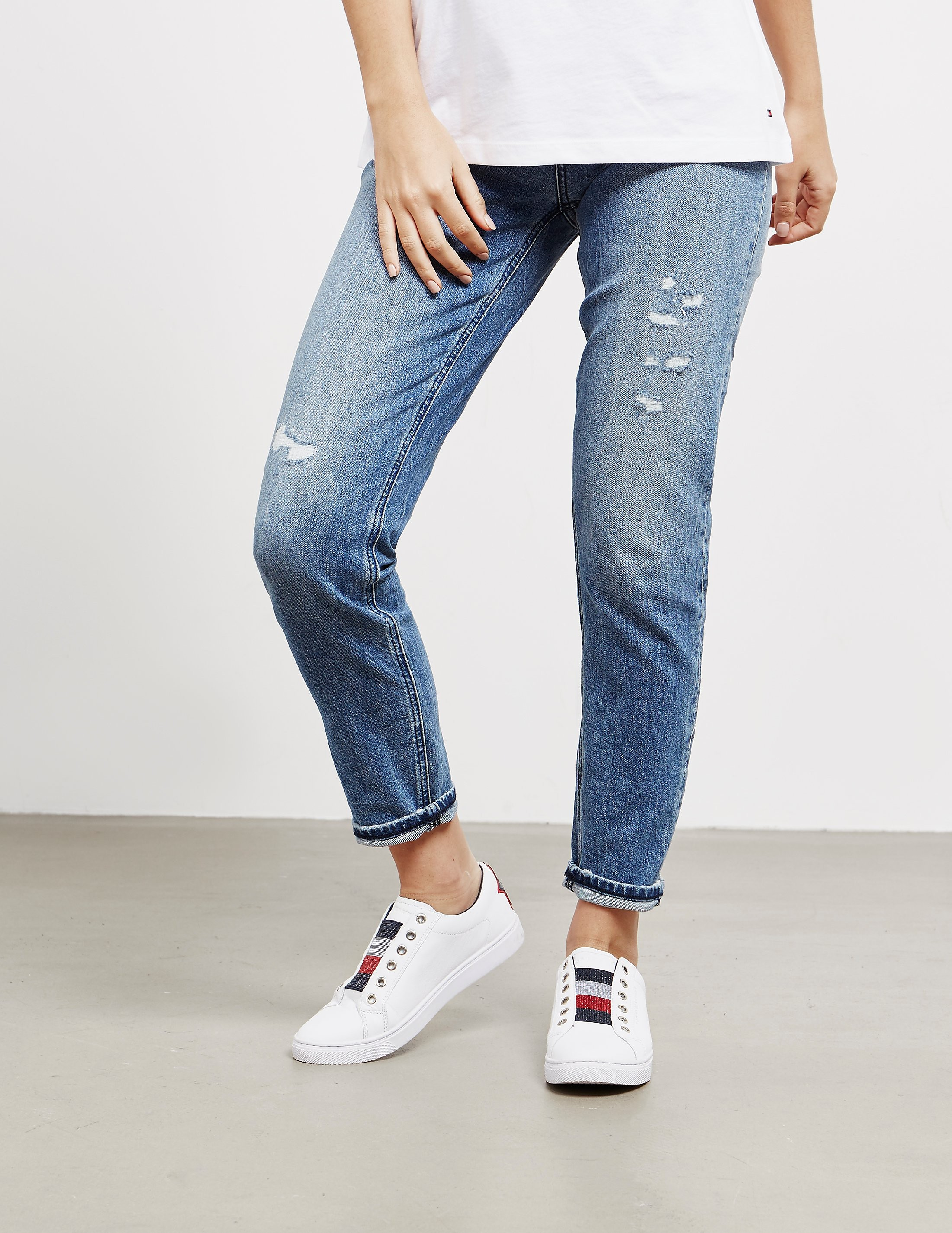 c8b708e9b Womens Tommy Hilfiger Mom Fit Jeans - Online Exclusive Blue, Blue ...