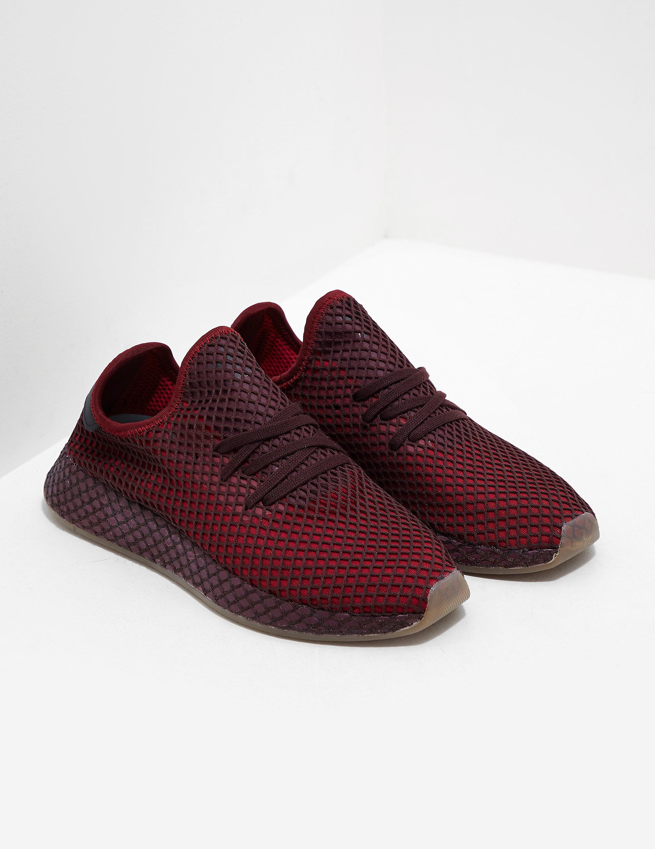 brand new dcbd8 459ba Mens adidas Originals Deerupt Red, Red | £45.00 | Port