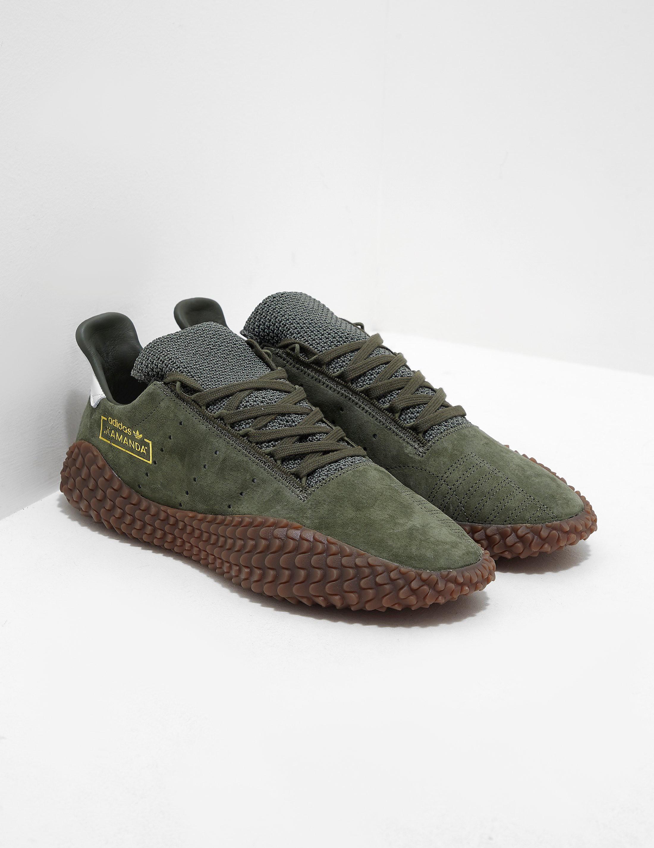 buy online 15456 5e8a6 Mens adidas Originals Kamanda Green, Green