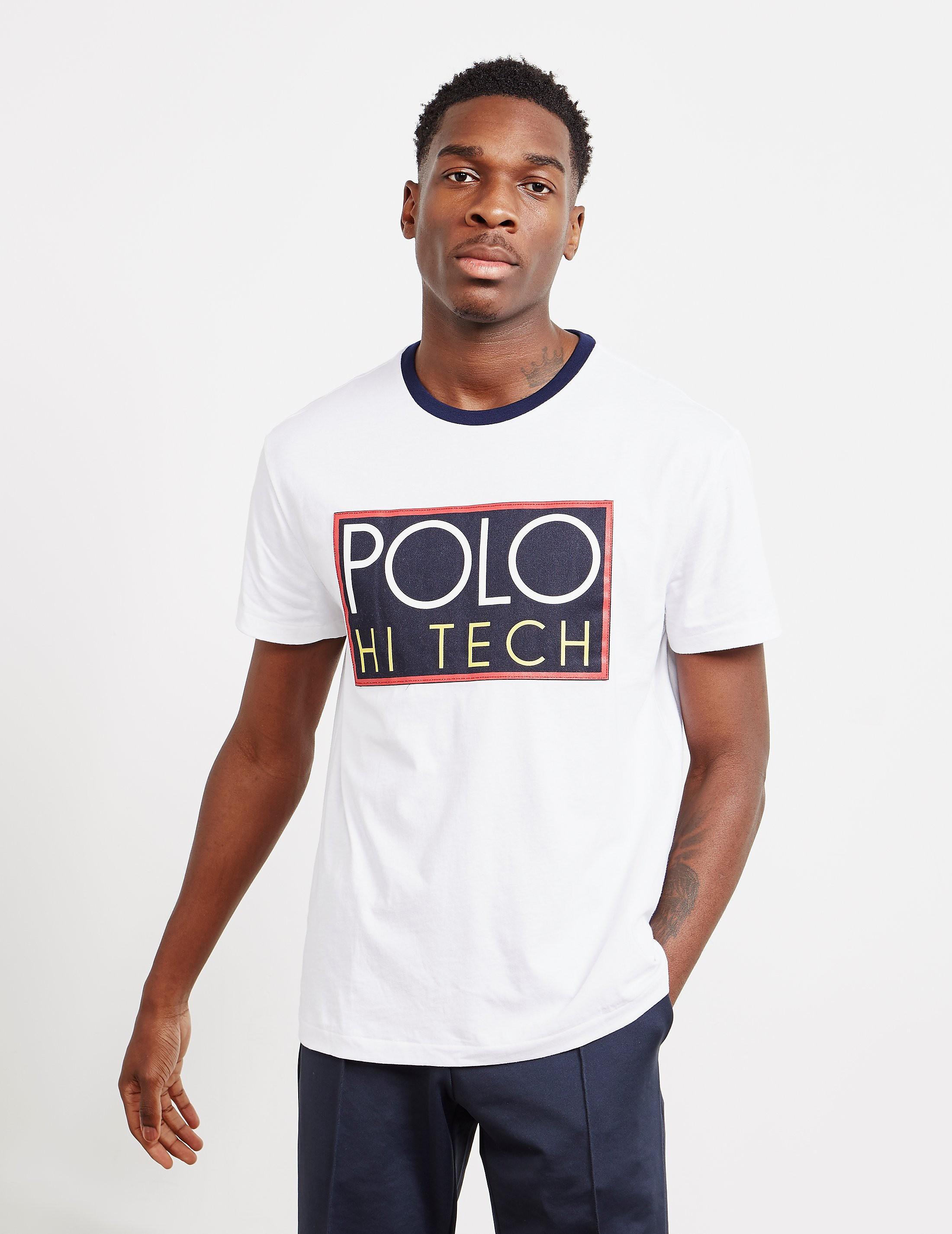 e764925cf5e Mens Polo Ralph Lauren Hi Tech Short Sleeve T-Shirt White, White ...