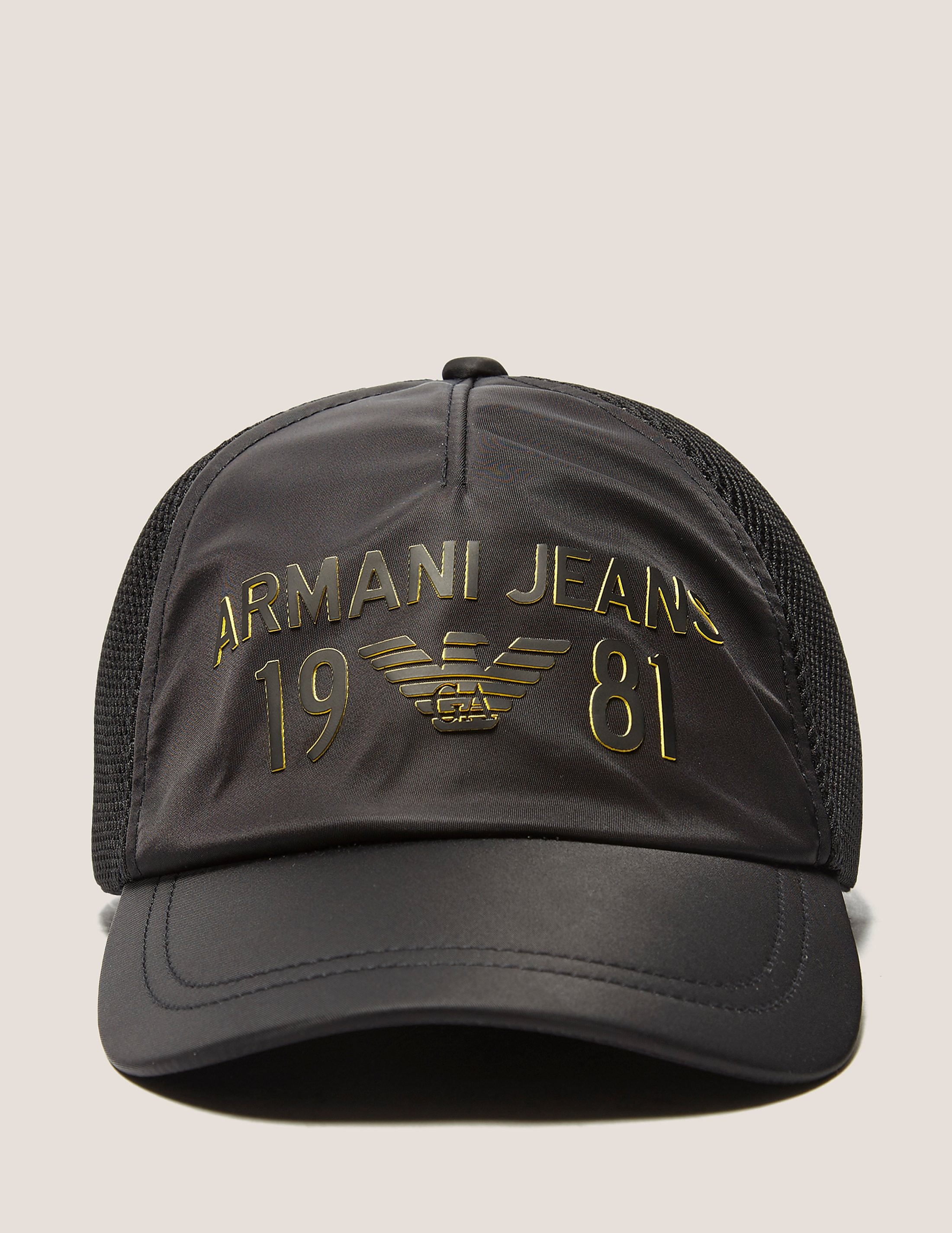 Armani Jeans Large Logo Baseball Cap