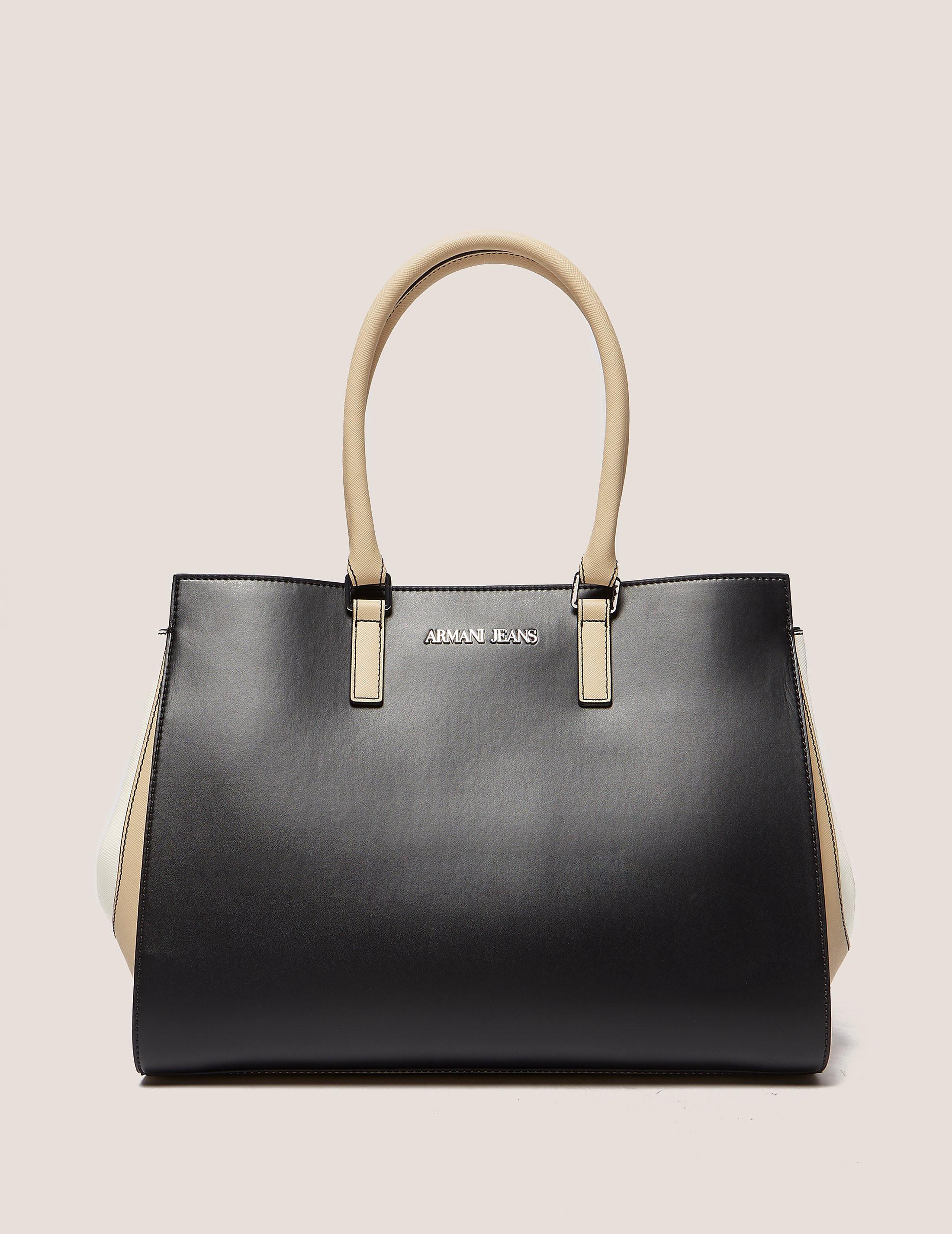 Armani Jeans Colour Block Shopper Bag