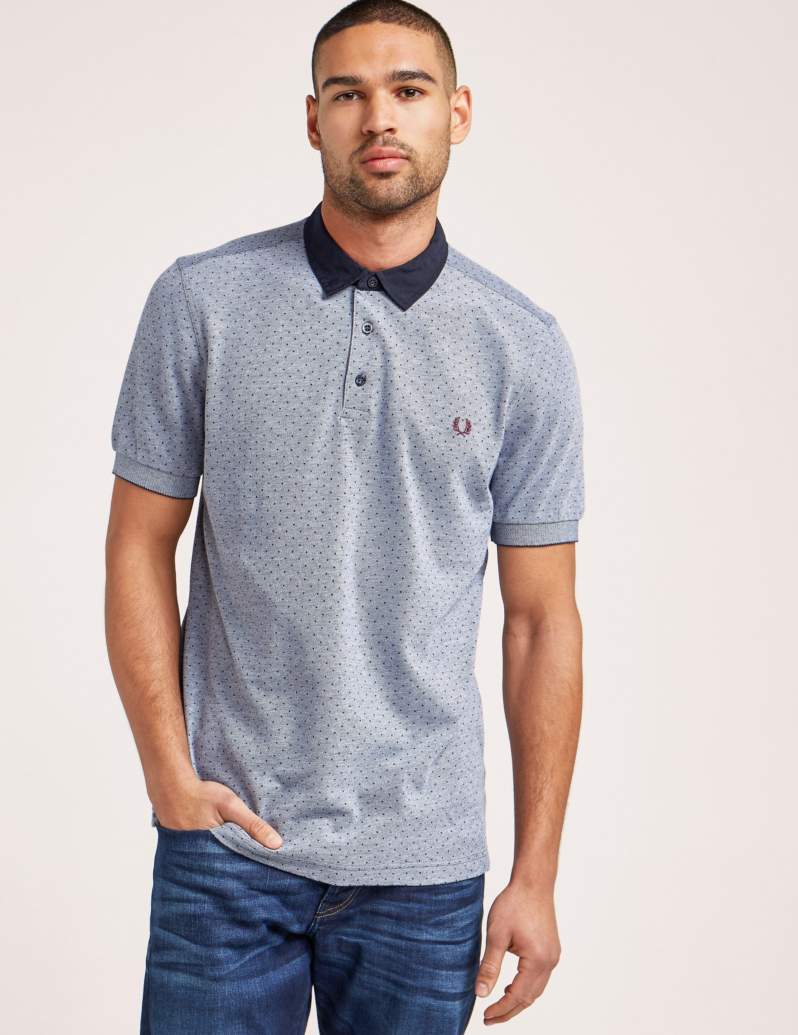 Fred Perry Polka Dot Polo Shirt