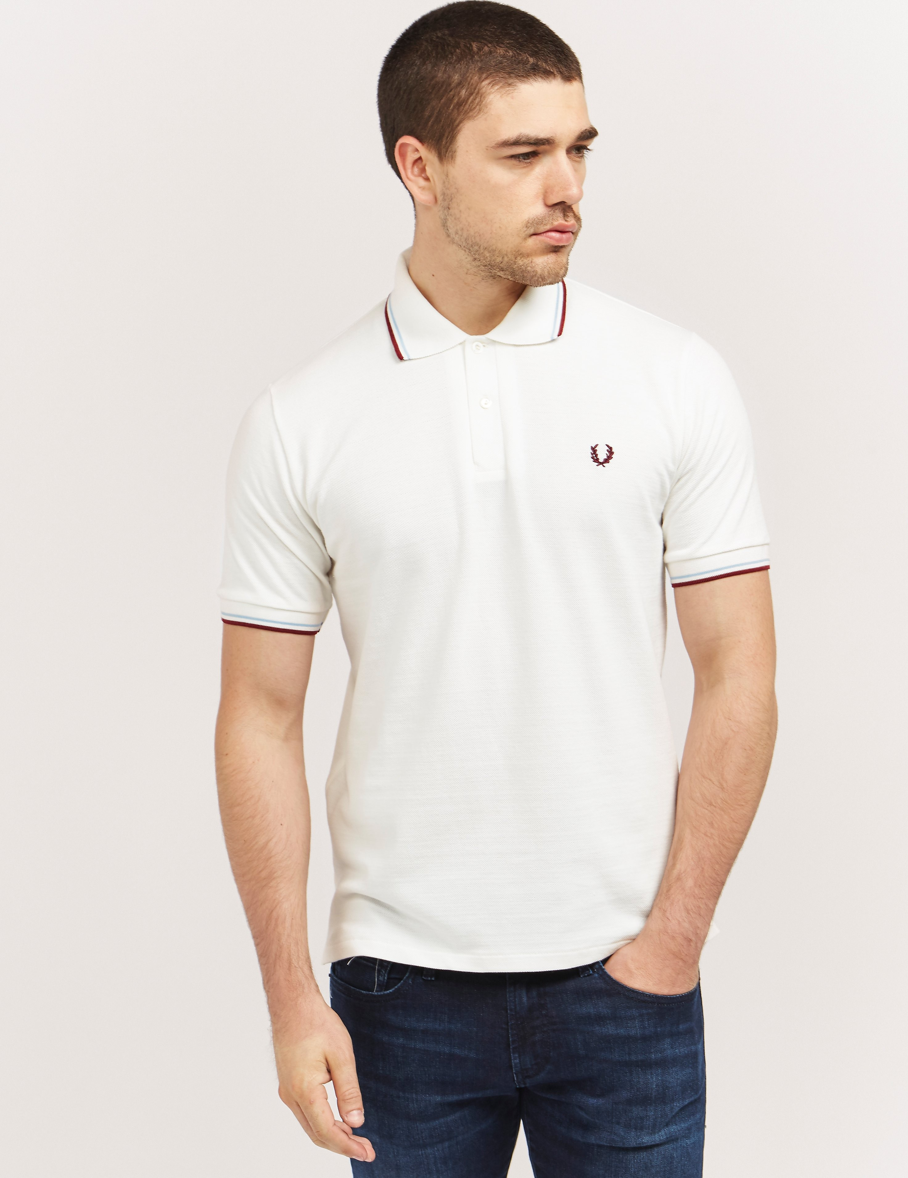 Fred Perry Made In England Tipped Polo Shirt