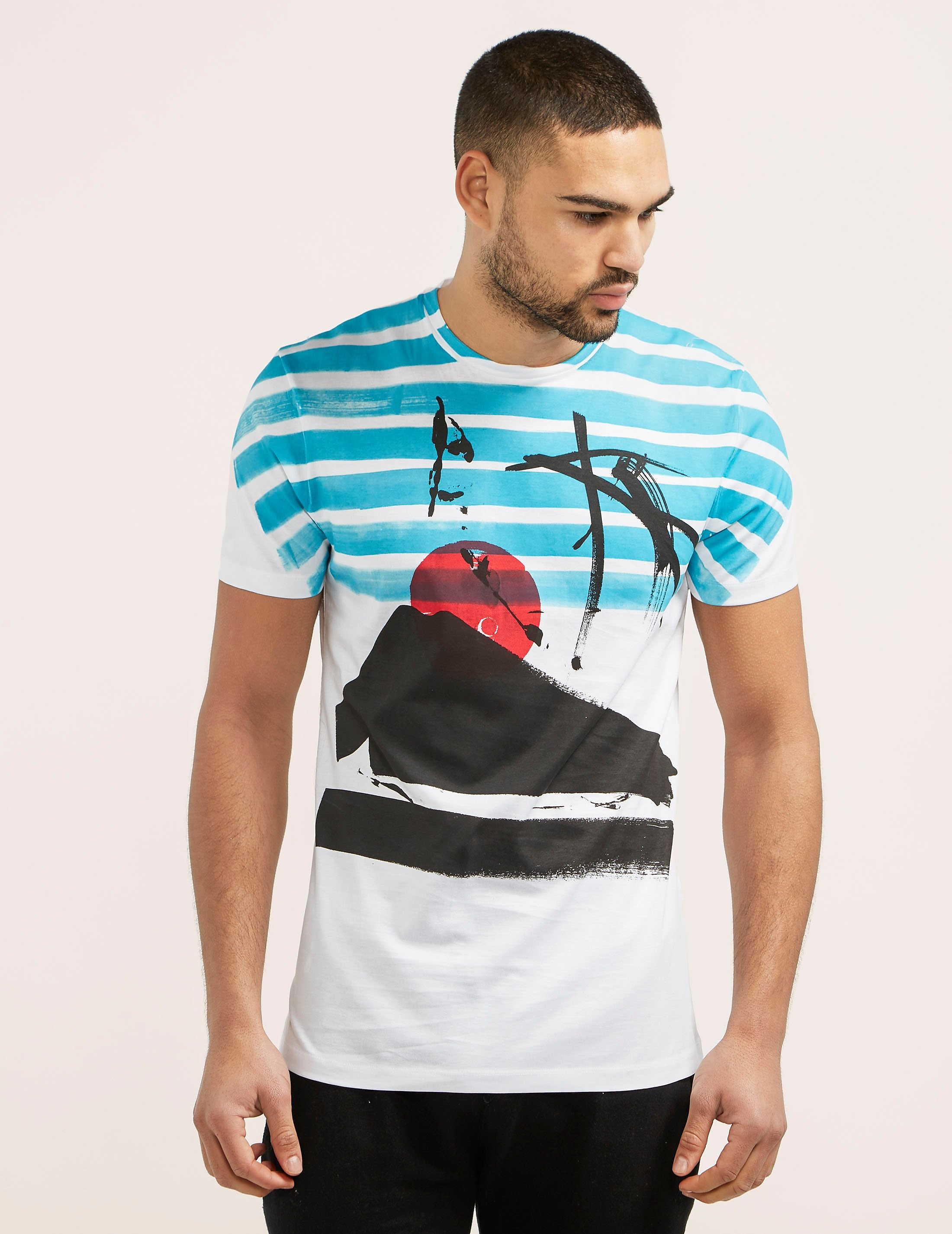 Antony Morato Sunset Short Sleeve TShirt