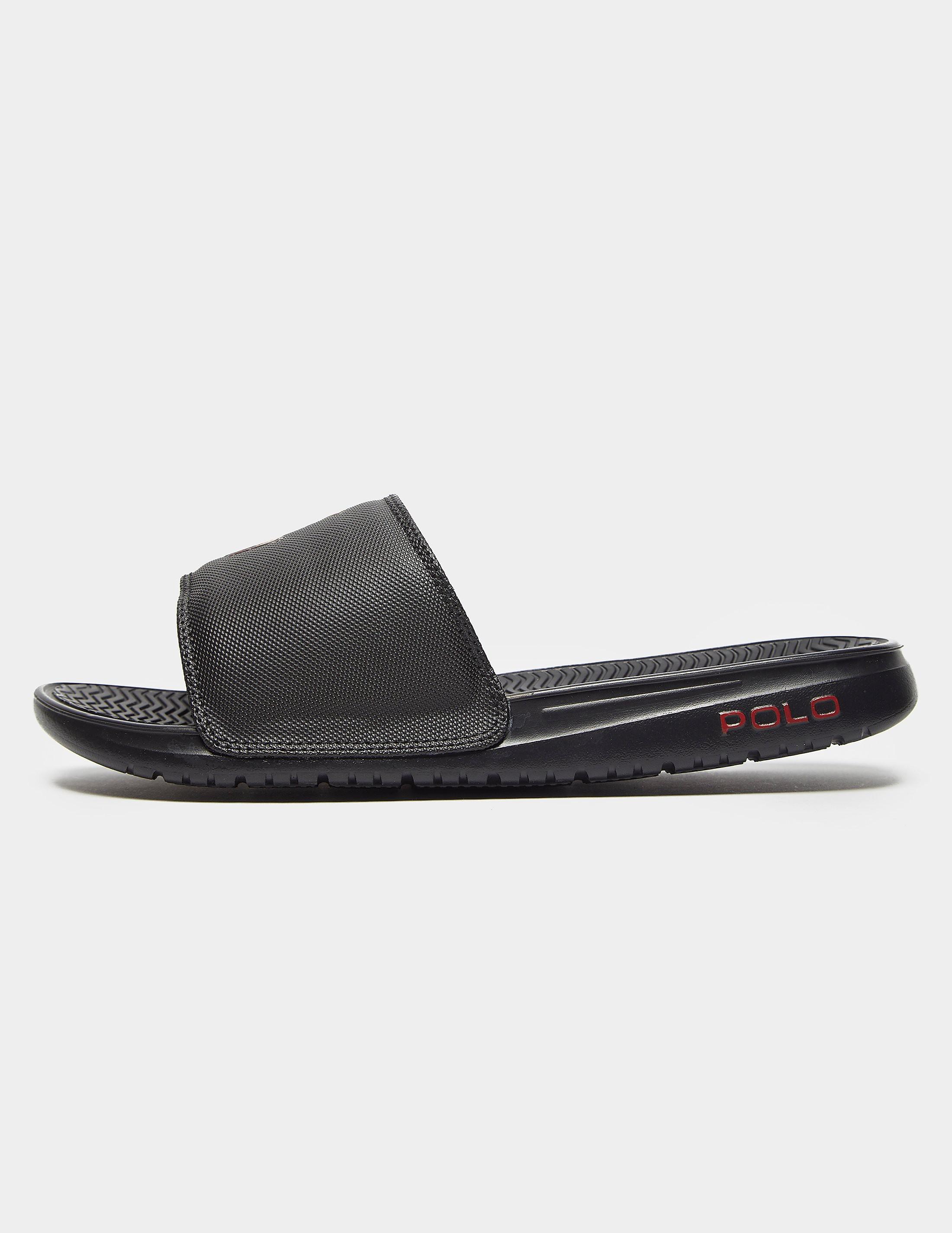 c29a29687 Mens Polo Ralph Lauren Rodwell Slides Black