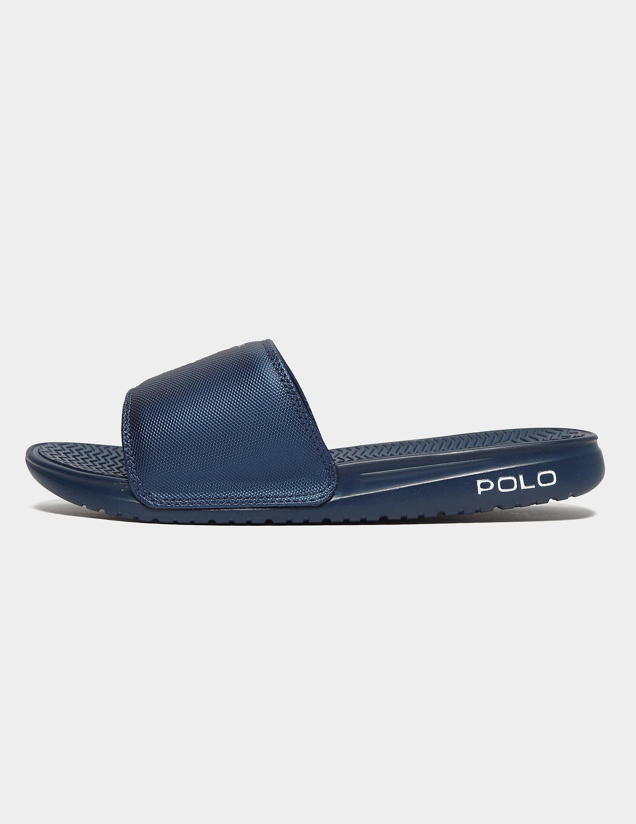 00e7b0d8b3b7 Mens Polo Ralph Lauren Rodwell Slides Navy blue